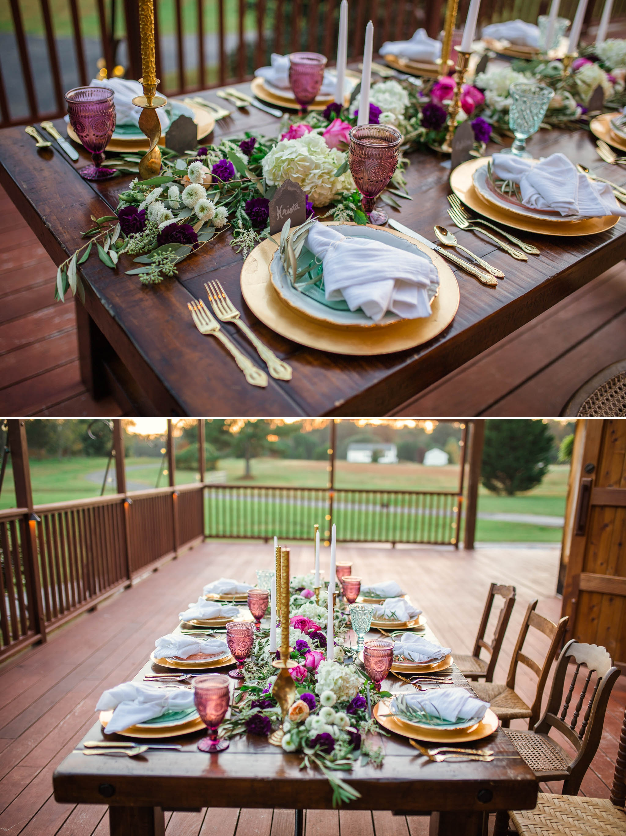 Wedding Table scape details inspiration - the barn at valhalla in chapel hill, nc - raleigh, north carolina photographer
