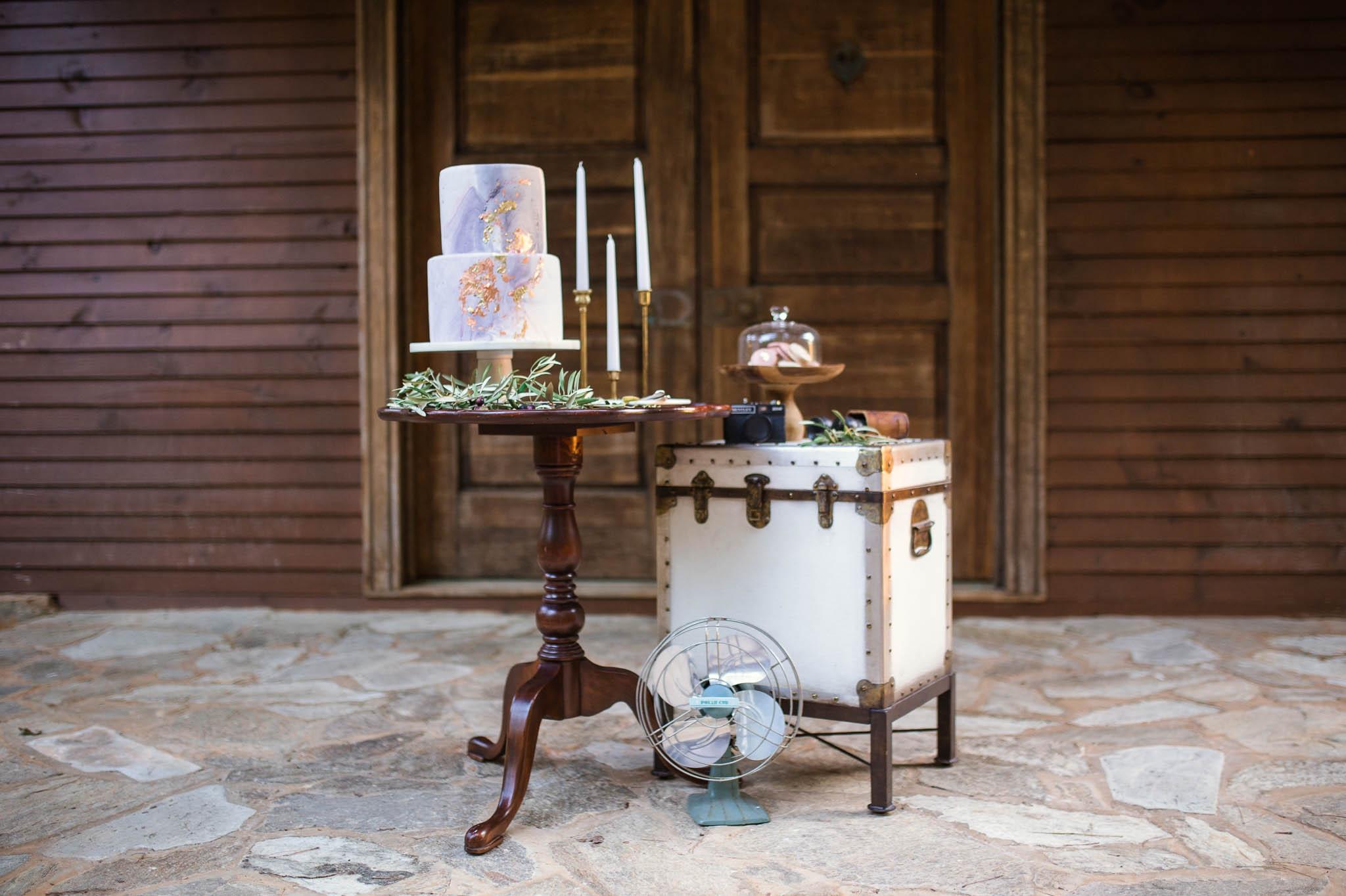 Purple and Gold Wedding Invitation Inspiration - Raleigh North Carolina Wedding Photography