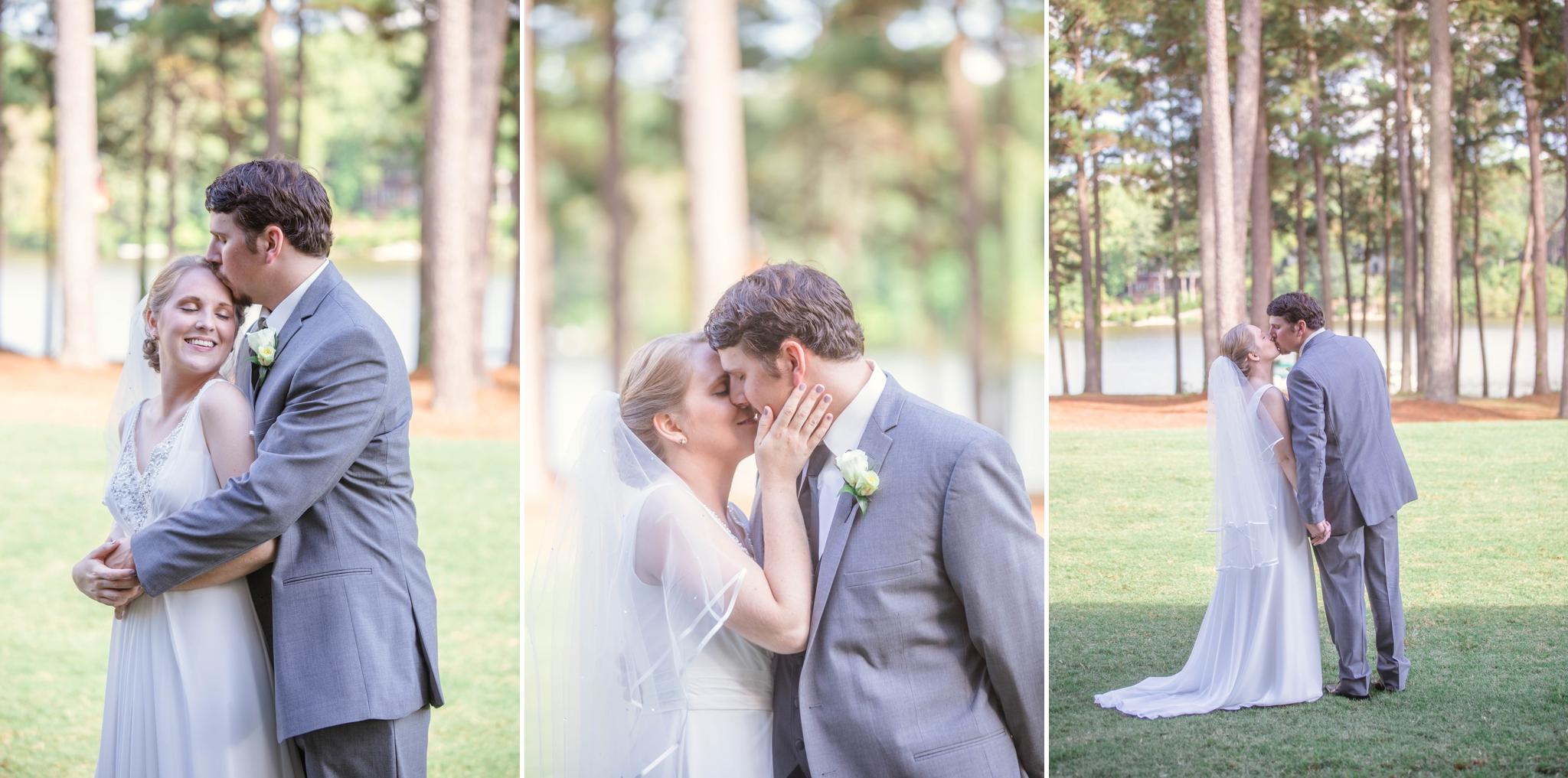 First Look between Bride and Groom - Raleigh Wedding North Carolina Photographer - Johanna Dye Photography