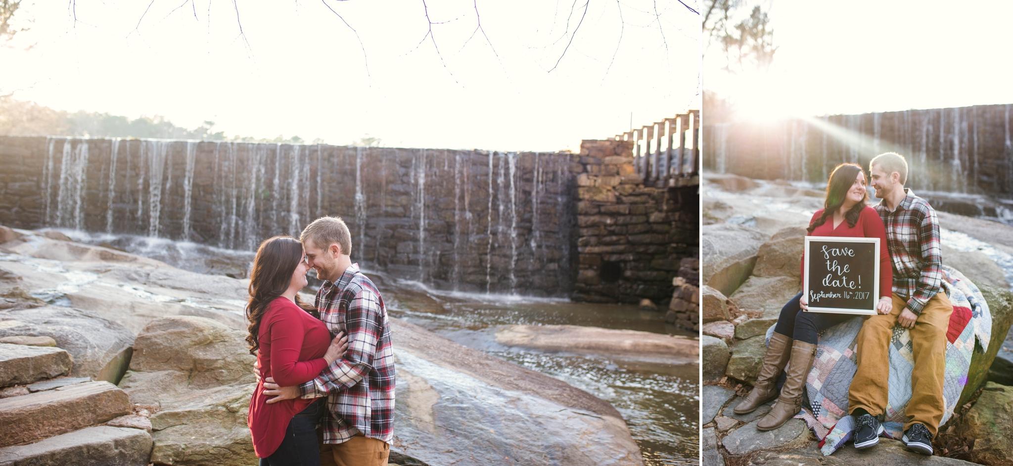 Raleigh Engagement Photographer at Yates Mill Park - Johanna Dye Photography - Dean Engagement