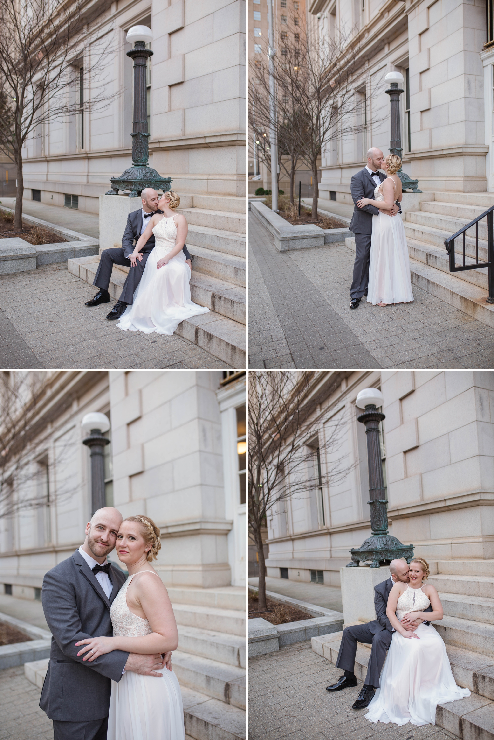 Downtown Raleigh Engagement Photography Session - North Carolina Wedding Photographer