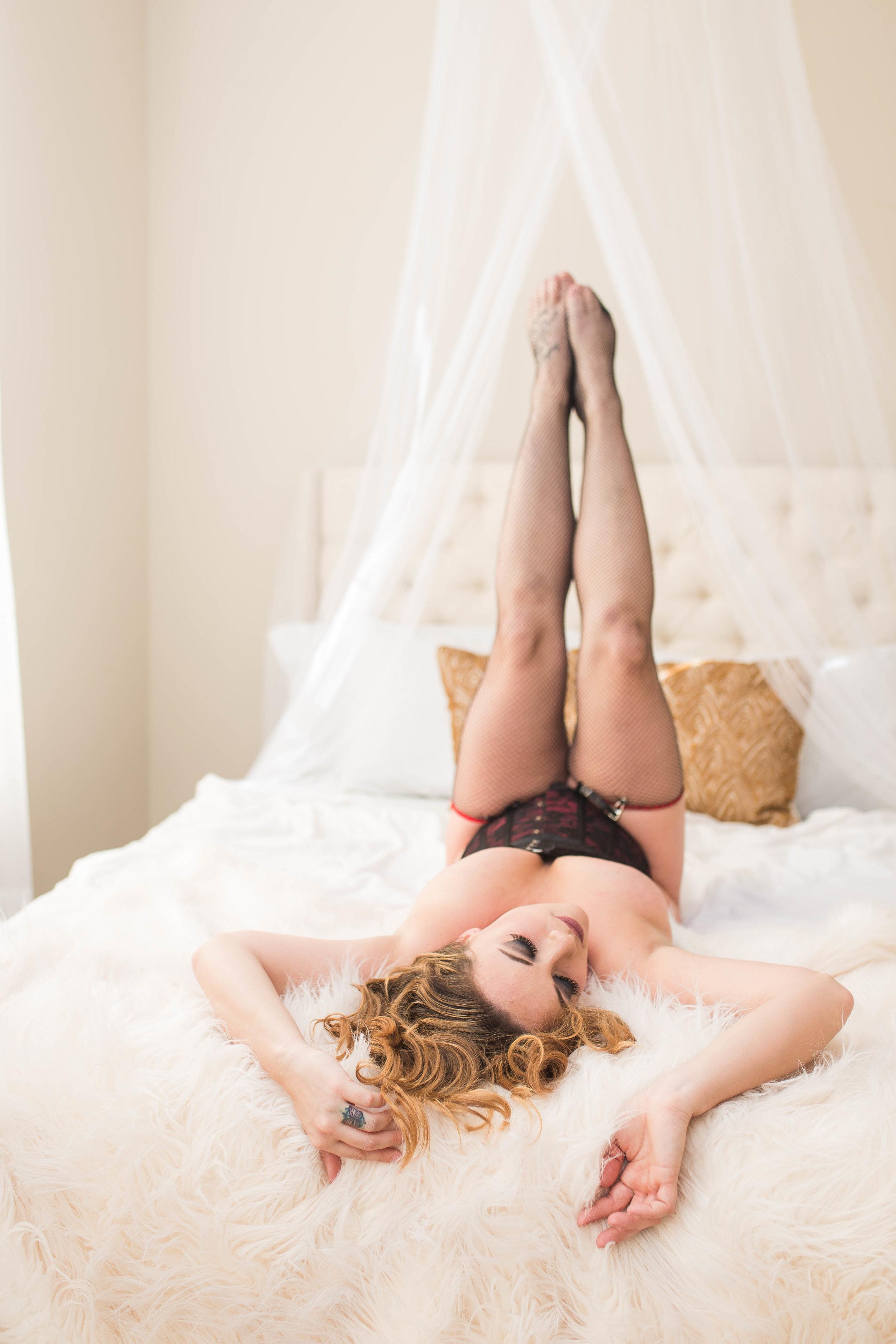 Fayetteville North Carolina Boudoir Photographer - Intimate Women's Portraiture