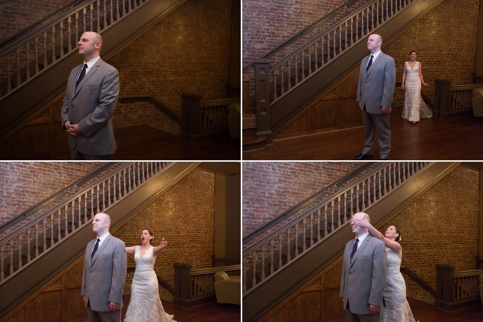 Wedding Photography at the Foundation Event Facility in Bristol Tennessee Virginia - Jaclyn & Matt - Johanna Dye Photography