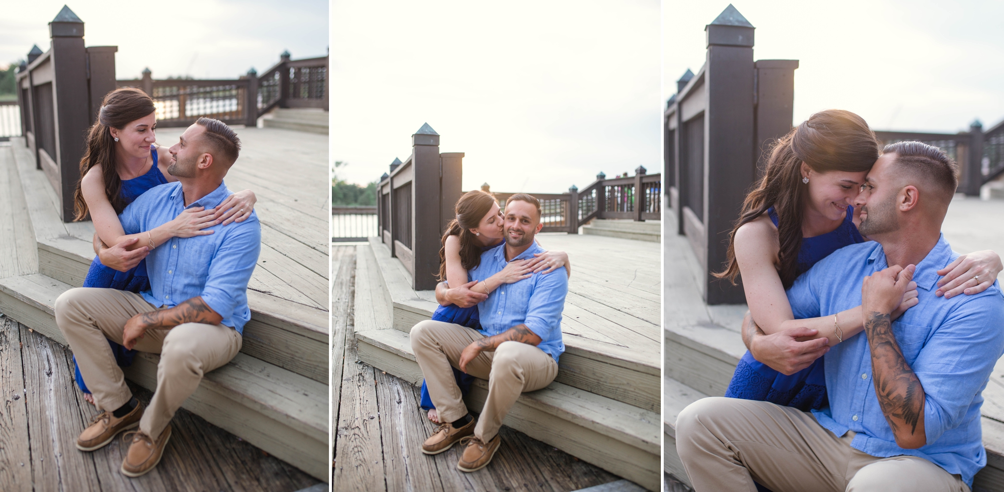 Alison + Thomas - Engagement Photography Session in Downtown Wilmington, NC - North Carolina Wedding Photographer