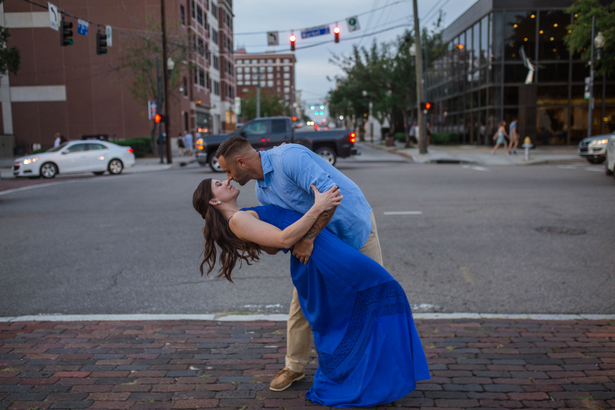 Engagement Photography Session in Downtown Wilmington, North Carolina - Wedding Photographer in NC  6.jpg