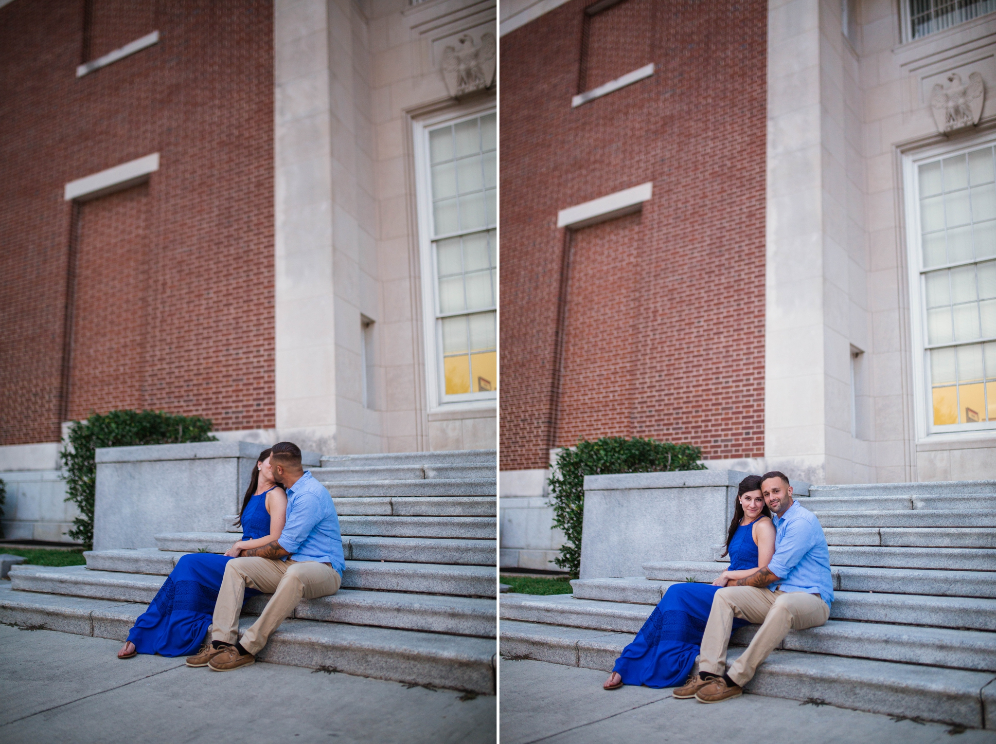 Engagement Photography Session in Downtown Wilmington, North Carolina - Wedding Photographer in NC  8.jpg