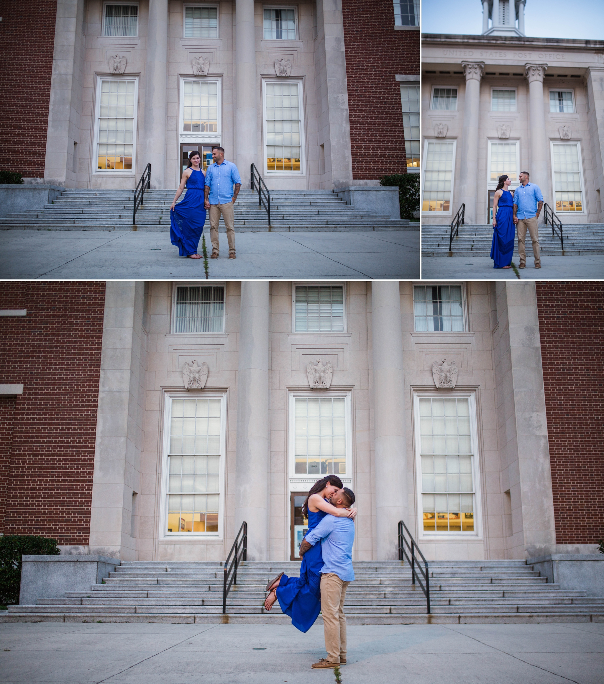 Engagement Photography Session in Downtown Wilmington, North Carolina - Wedding Photographer in NC  7.jpg