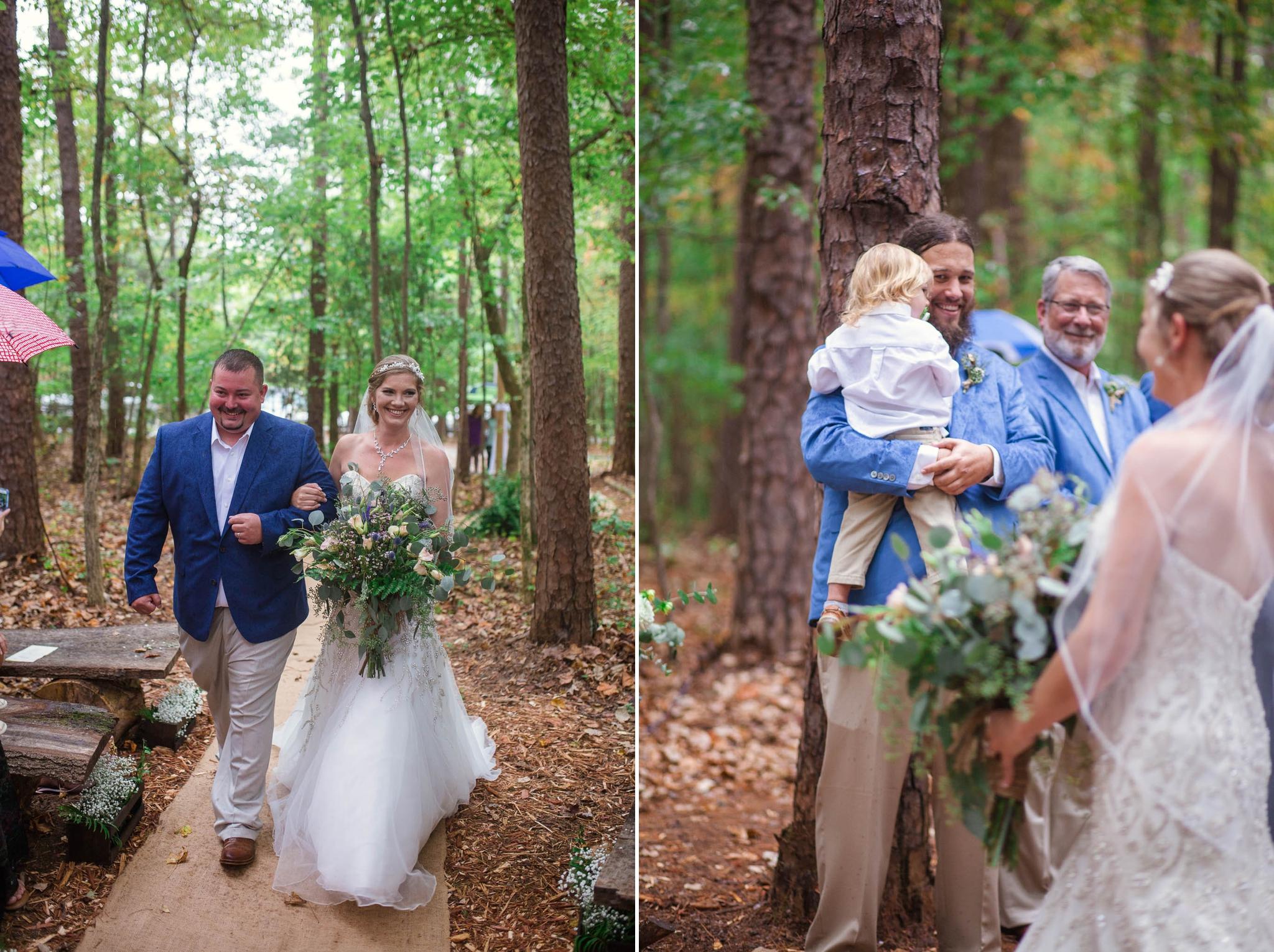 Erik + Meghan - Wedding at the Timerlake Earth Sanctuary in Whitsett North Carolina - Raleigh Wedding Photographer