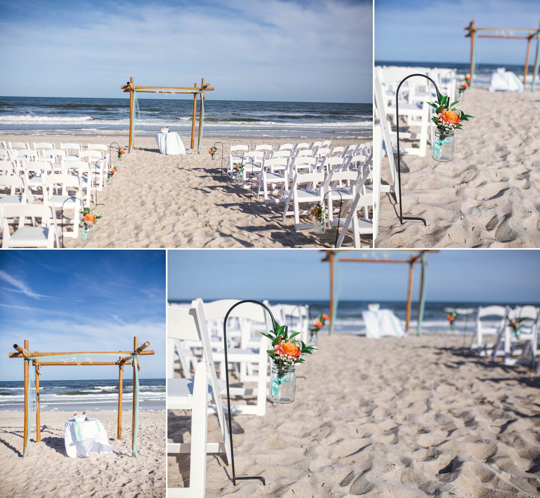 Wedding At The Carolina Beach Marriott