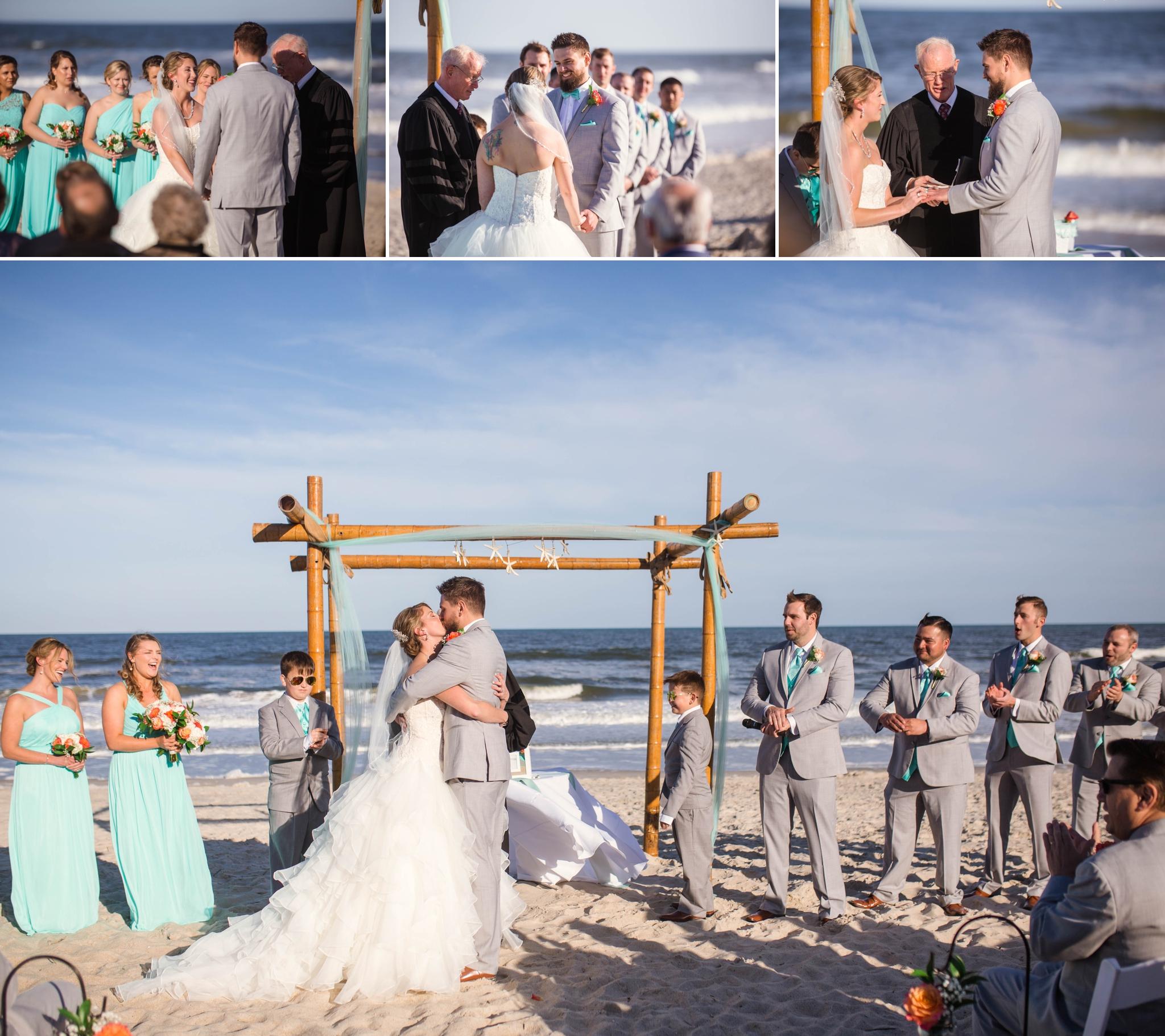 Mallori + Patrick - Wedding at Courtyard by Marriott Carolina Beach Oceanfront - Wilmington, North Carolina Photographer