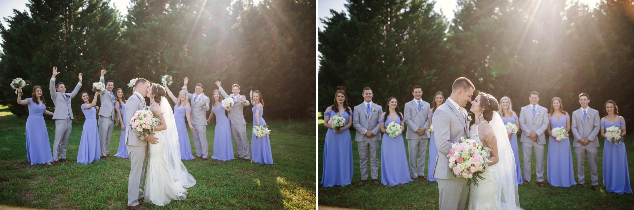 Paige + Tyler - Wedding at Rand Bryan House in Garner, NC - Raleigh North Carolina Photographer