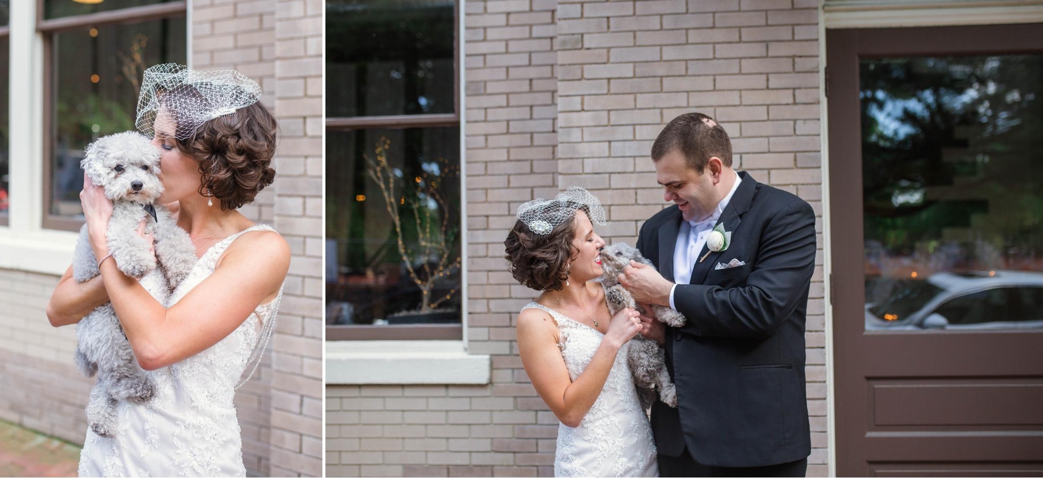 Dani + Adam - Wedding at 214 Martin Street - Raleigh North Carolina Photographer