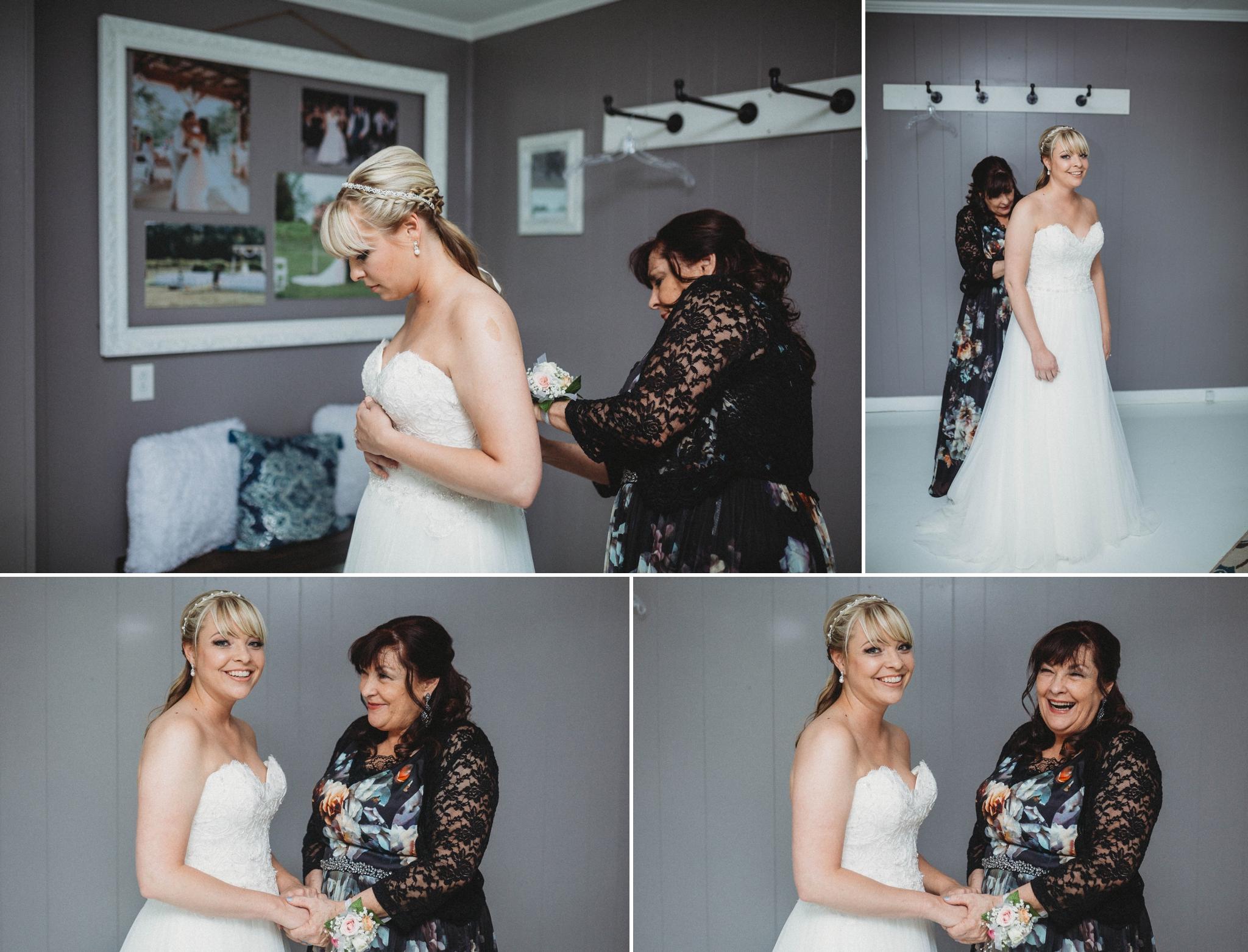 Wedding at Treehouse Vineyards in Monroe, NC - Charlotte North Carolina Photographer