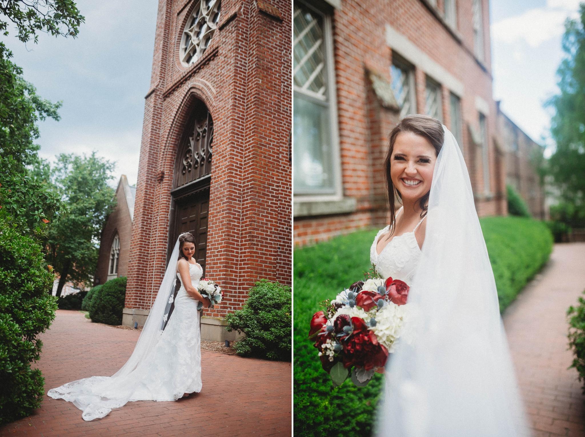 Portraits of the Bride Megan + Jon - Run away Elopement at the Blue Ridge Park Way in Asheville, North Carolina