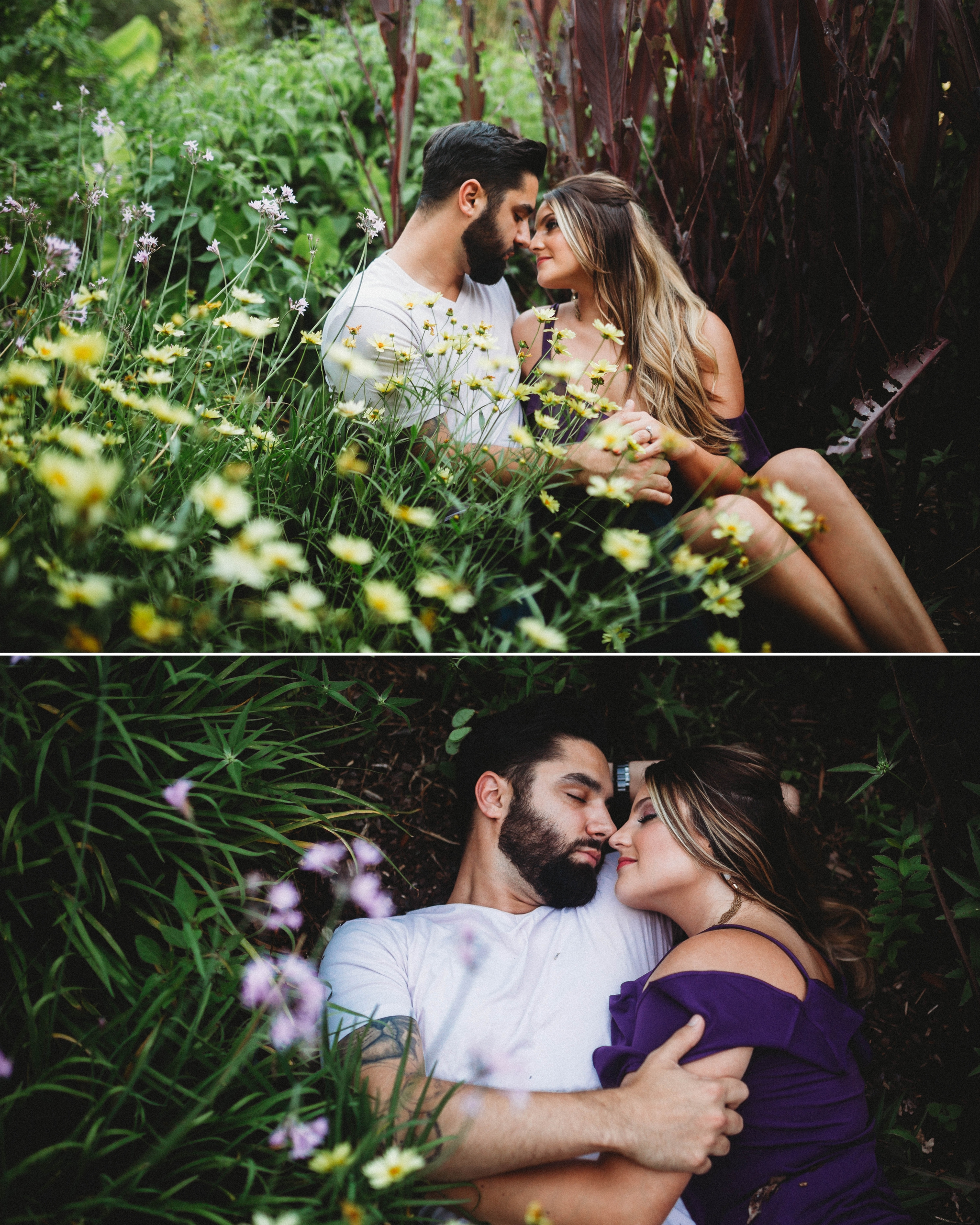 Brittany + Douglas - Engagement Session at The Arboretum: New Hanover - Wilmington, NC Wedding Photographer