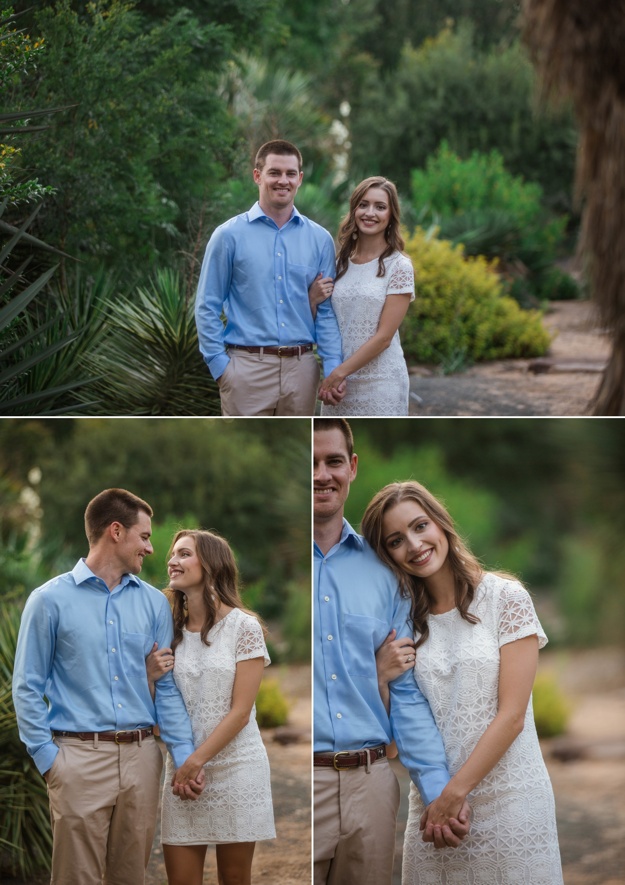 Paige + Tyler - Engagement Photography Session at the JC Raulston Arboretum - Raleigh Wedding Photographer 4.jpg
