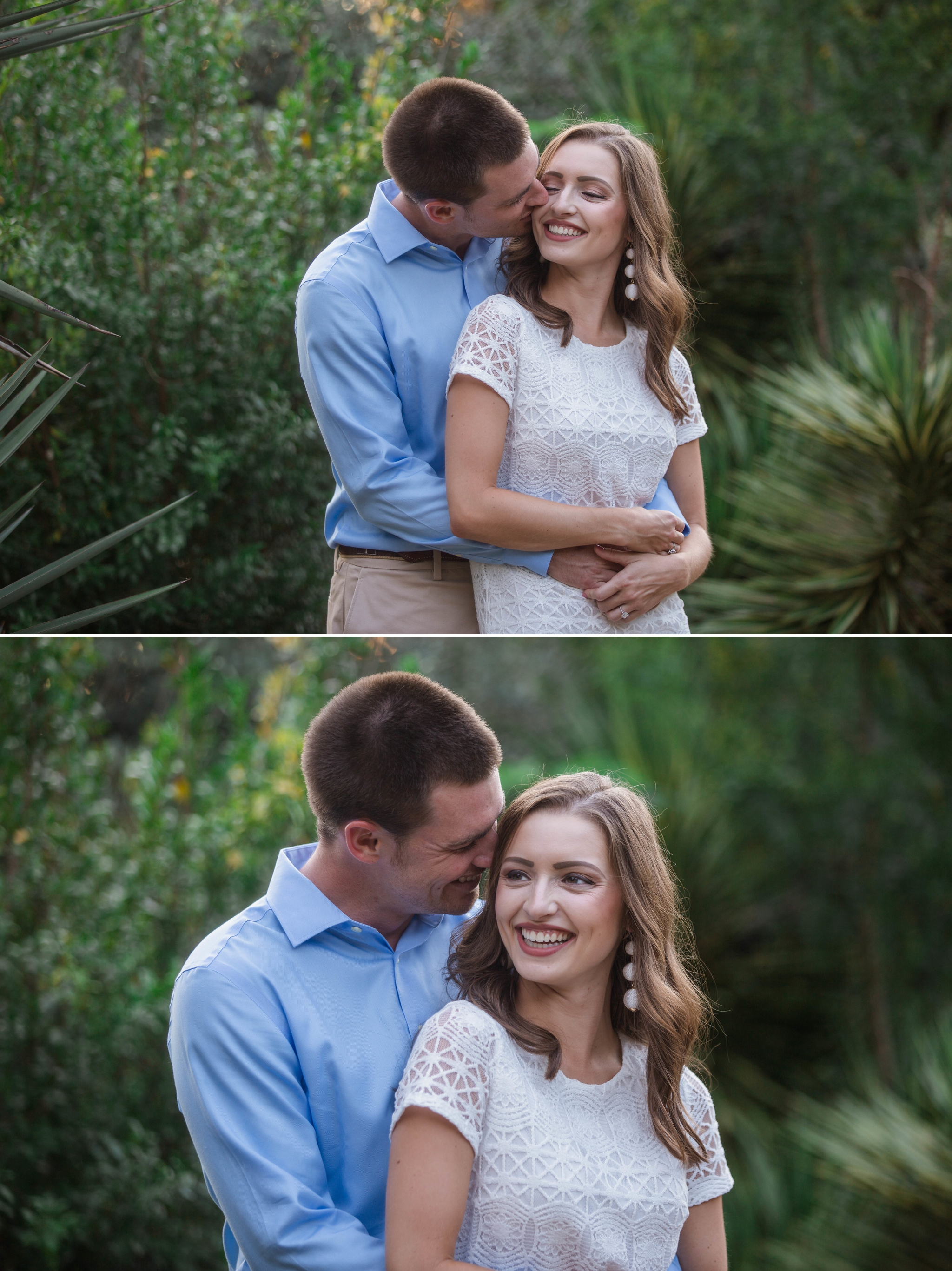 Paige + Tyler - Engagement Photography Session at the JC Raulston Arboretum - Raleigh Wedding Photographer 5.jpg