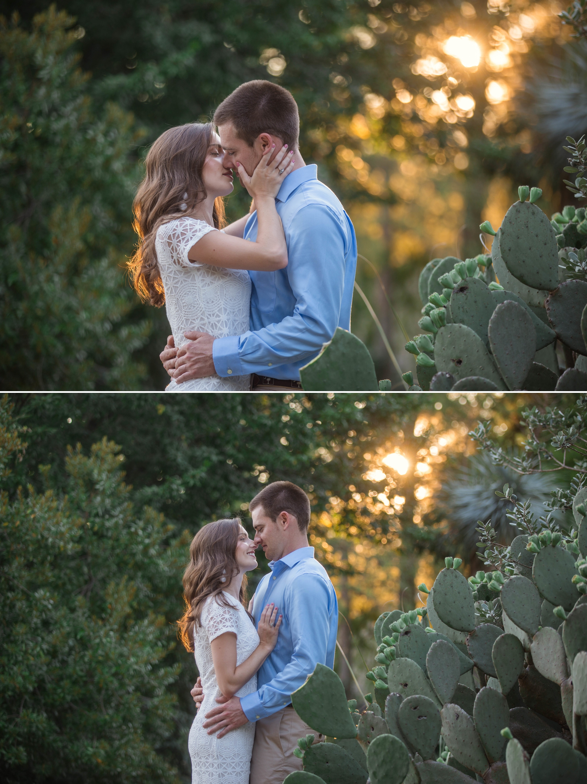 Paige + Tyler - Engagement Photography Session at the JC Raulston Arboretum - Raleigh Wedding Photographer 6.jpg