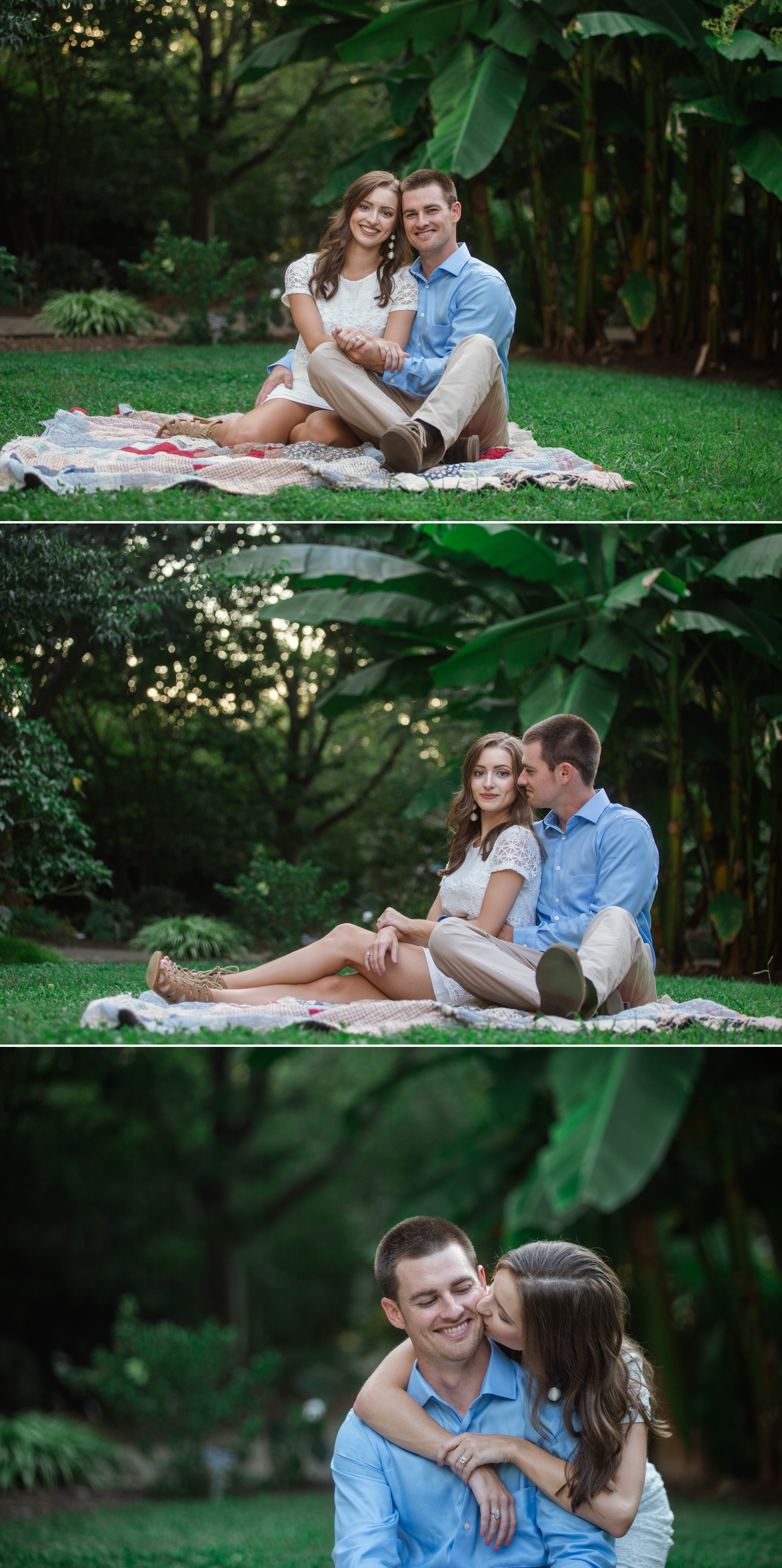Paige + Tyler - Engagement Photography Session at the JC Raulston Arboretum - Raleigh Wedding Photographer 7.jpg