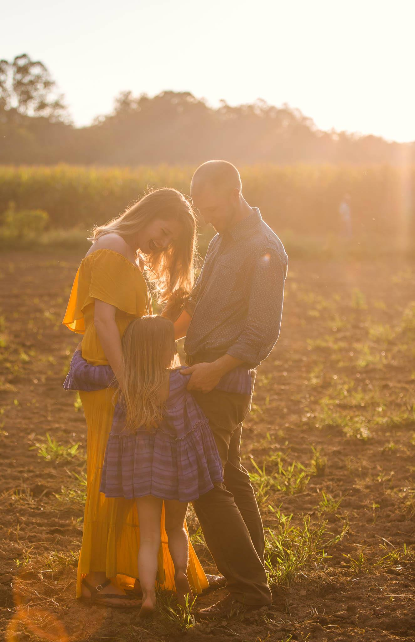 Fall Family Photography Session in Fayetteville North Carolina