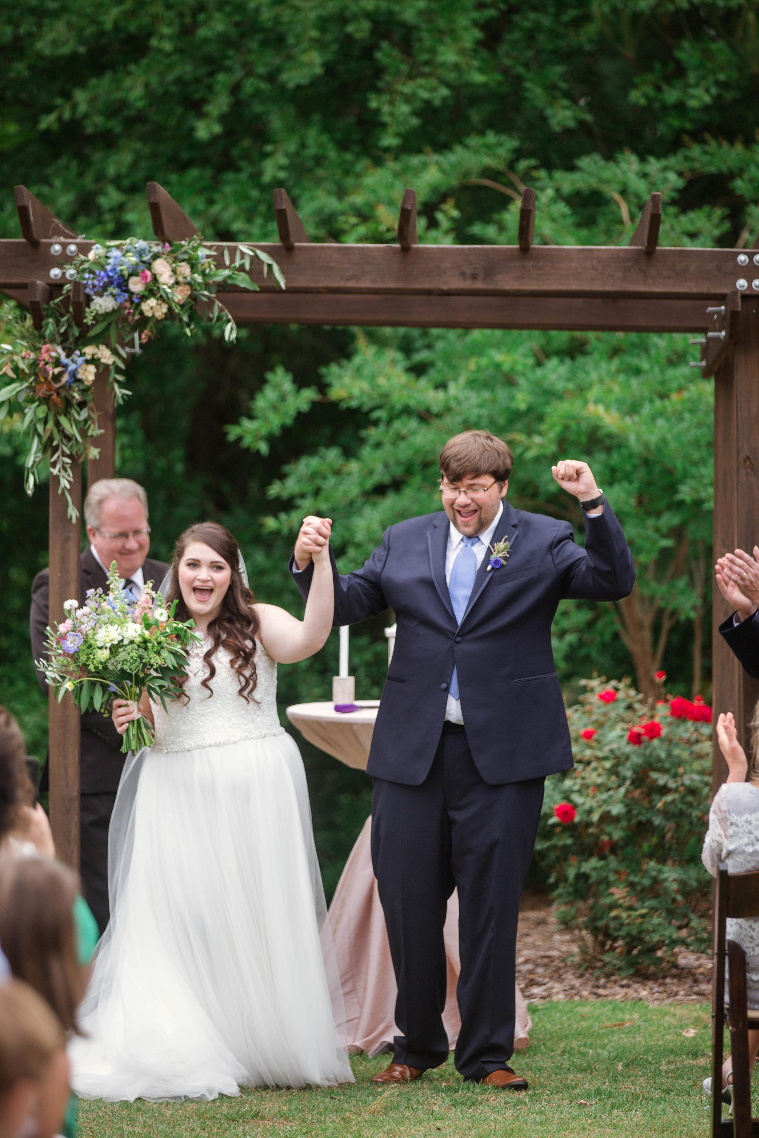 Spring Wedding at the Bradford in New Hill North Carolina