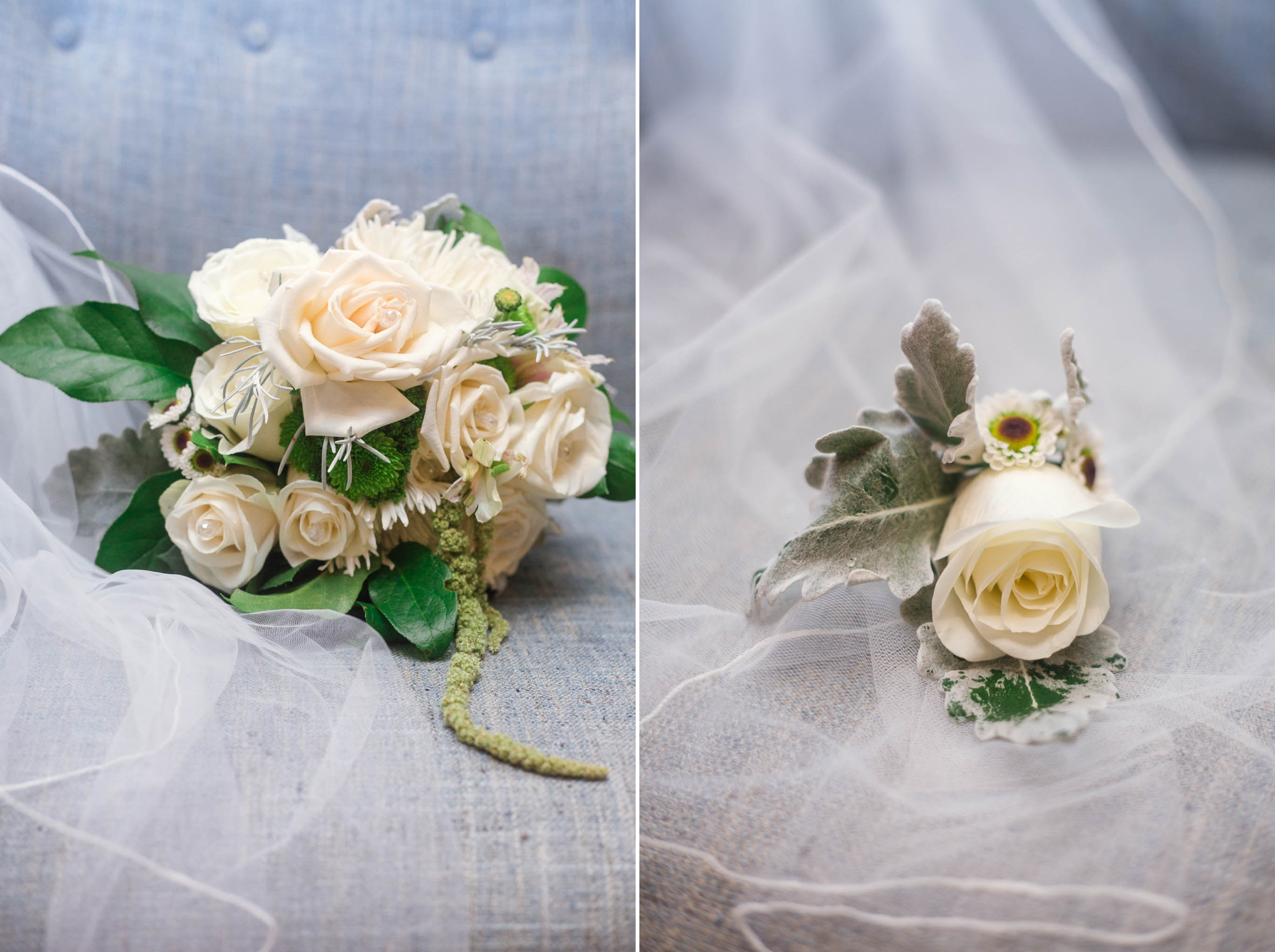 Bridal Bouquet - Dona + Doug - MacGregor Downs Country Club in Cary, NC - Raleigh Wedding Photographer