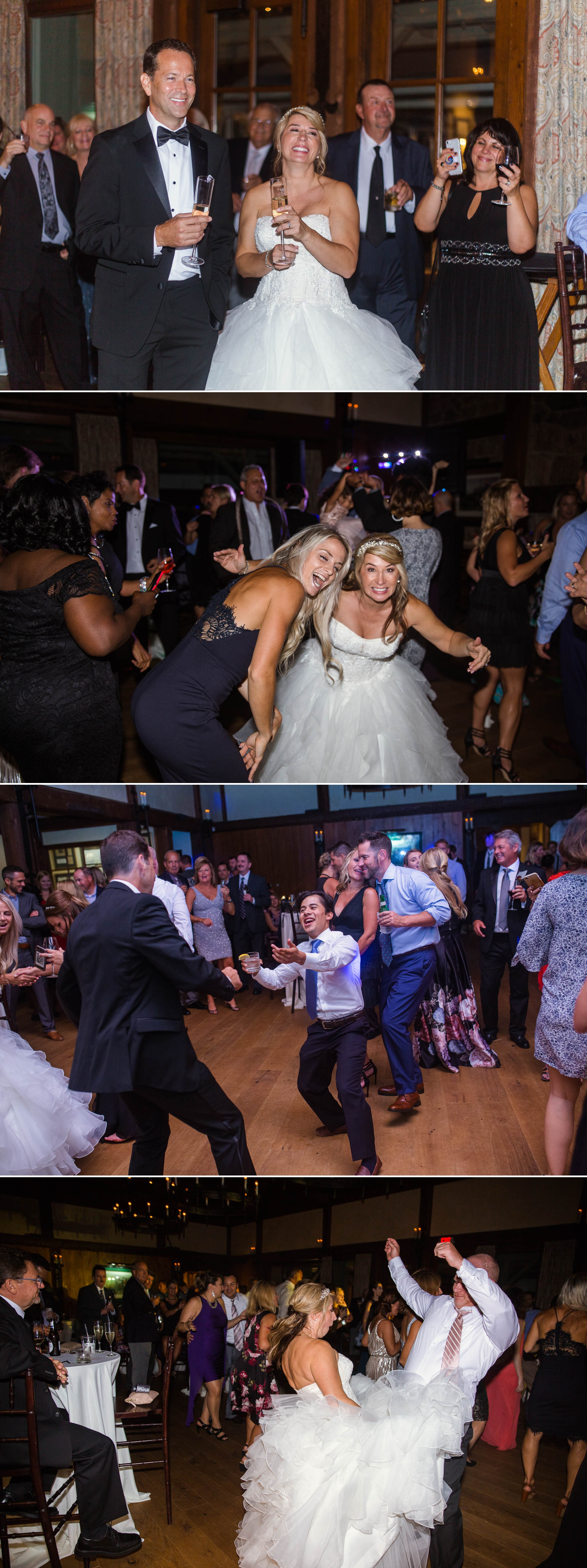 Reception - Dona + Doug - MacGregor Downs Country Club in Cary, NC - Raleigh Wedding Photographer