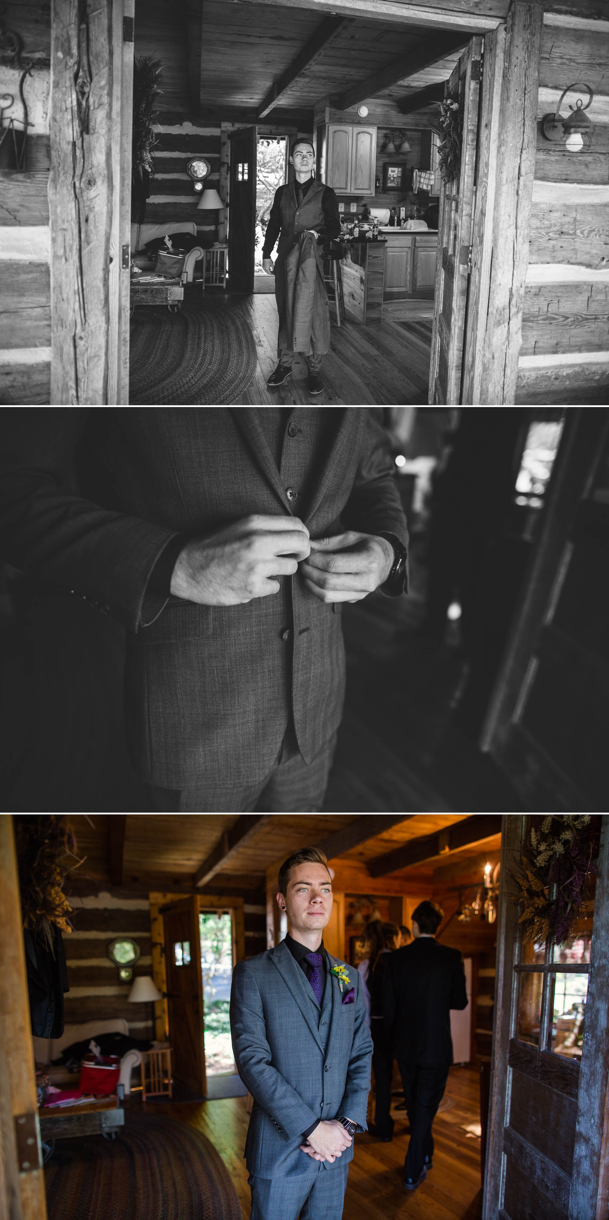 Grooms Details - Brittany + Greg - The Groomes Place - Charlotte, NC Wedding Photographer