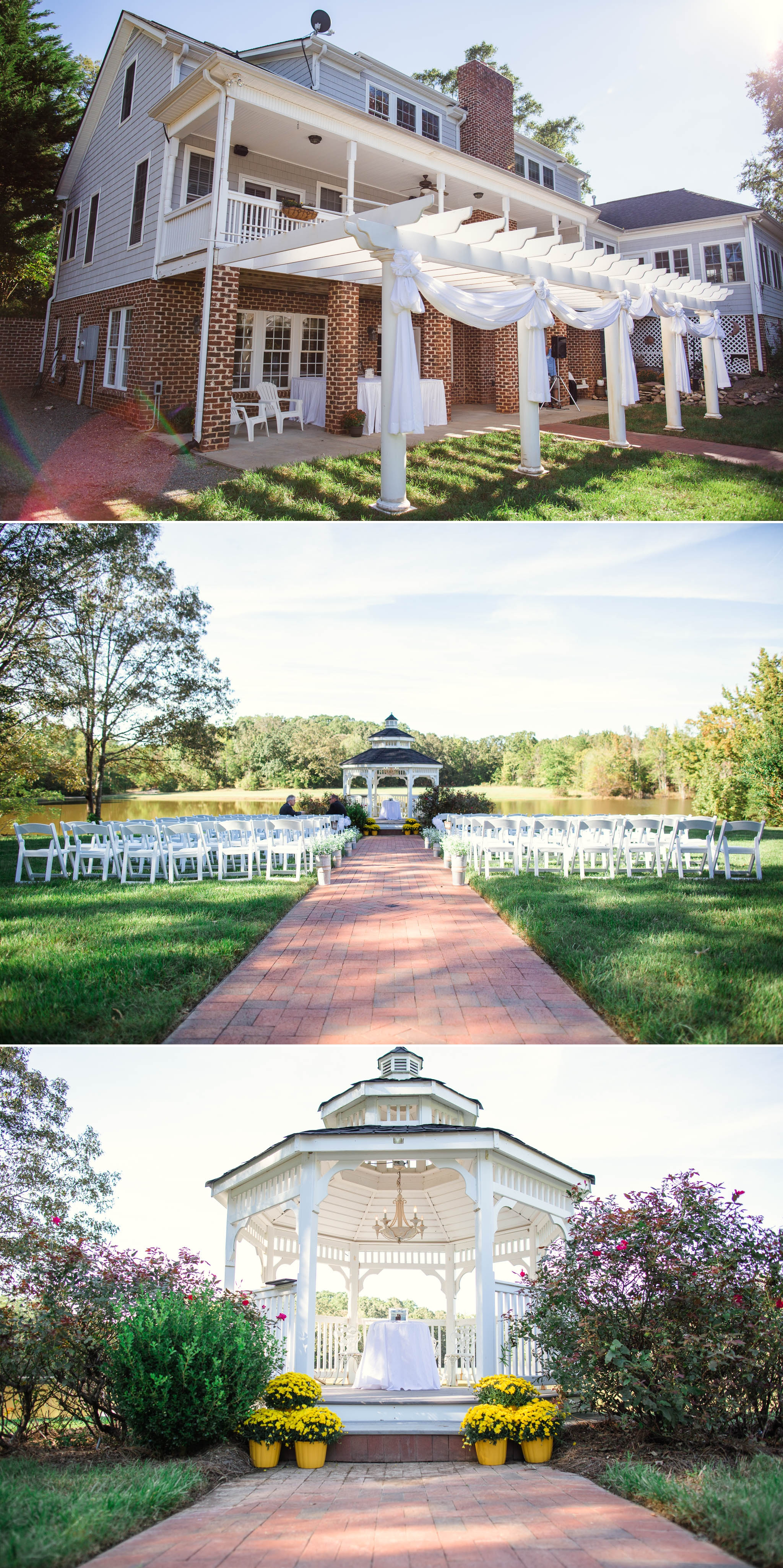The Venue - Brittany + Greg - The Groomes Place - Charlotte, NC Wedding Photographer