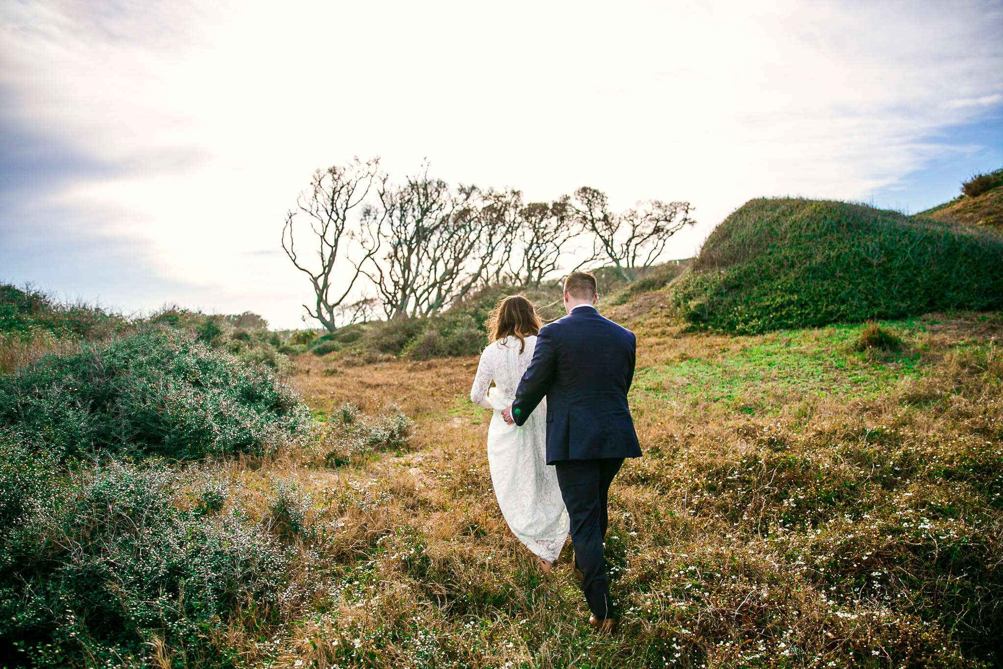 Taylor + James   Elopement Beach Portraits