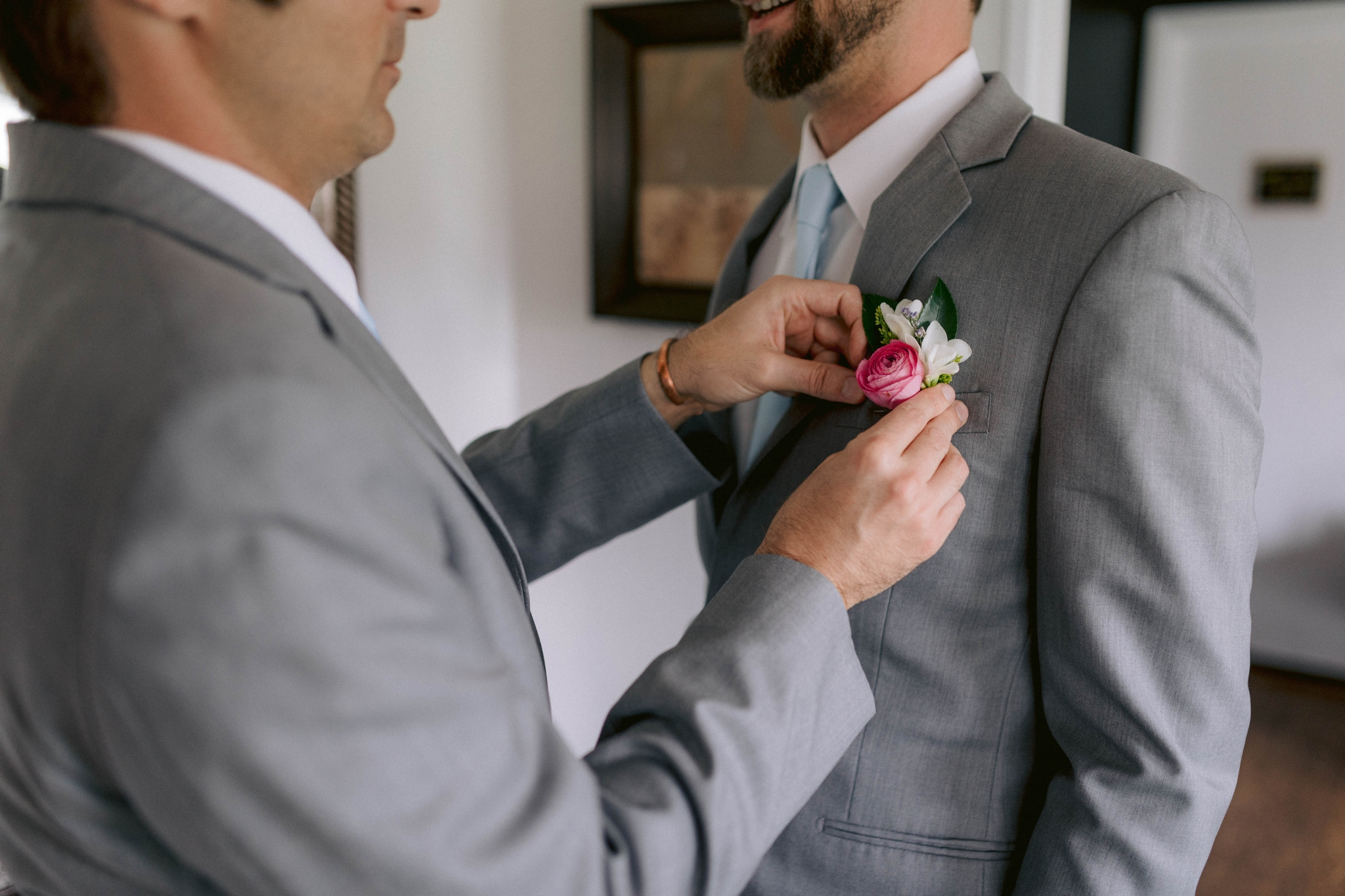 groom getting ready - Honolulu Oahu Hawaii Wedding Photographer