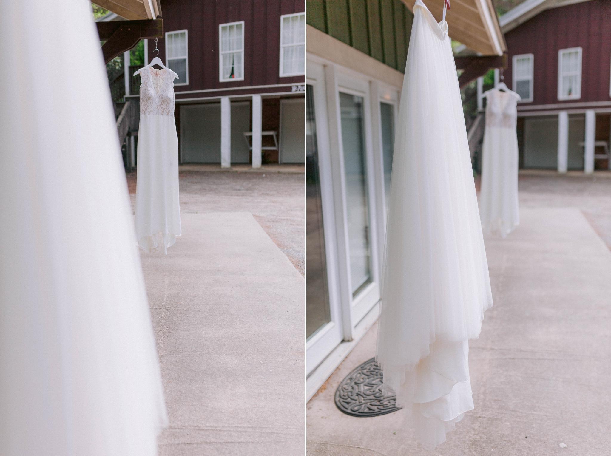 flowy skirt to go above the wedding dress - Honolulu Oahu Hawaii Wedding Photographer