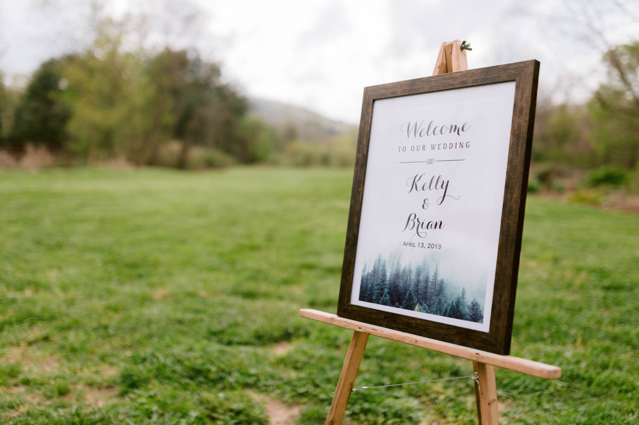welcome sign for a wedding - Honolulu Oahu Hawaii Wedding Photographer