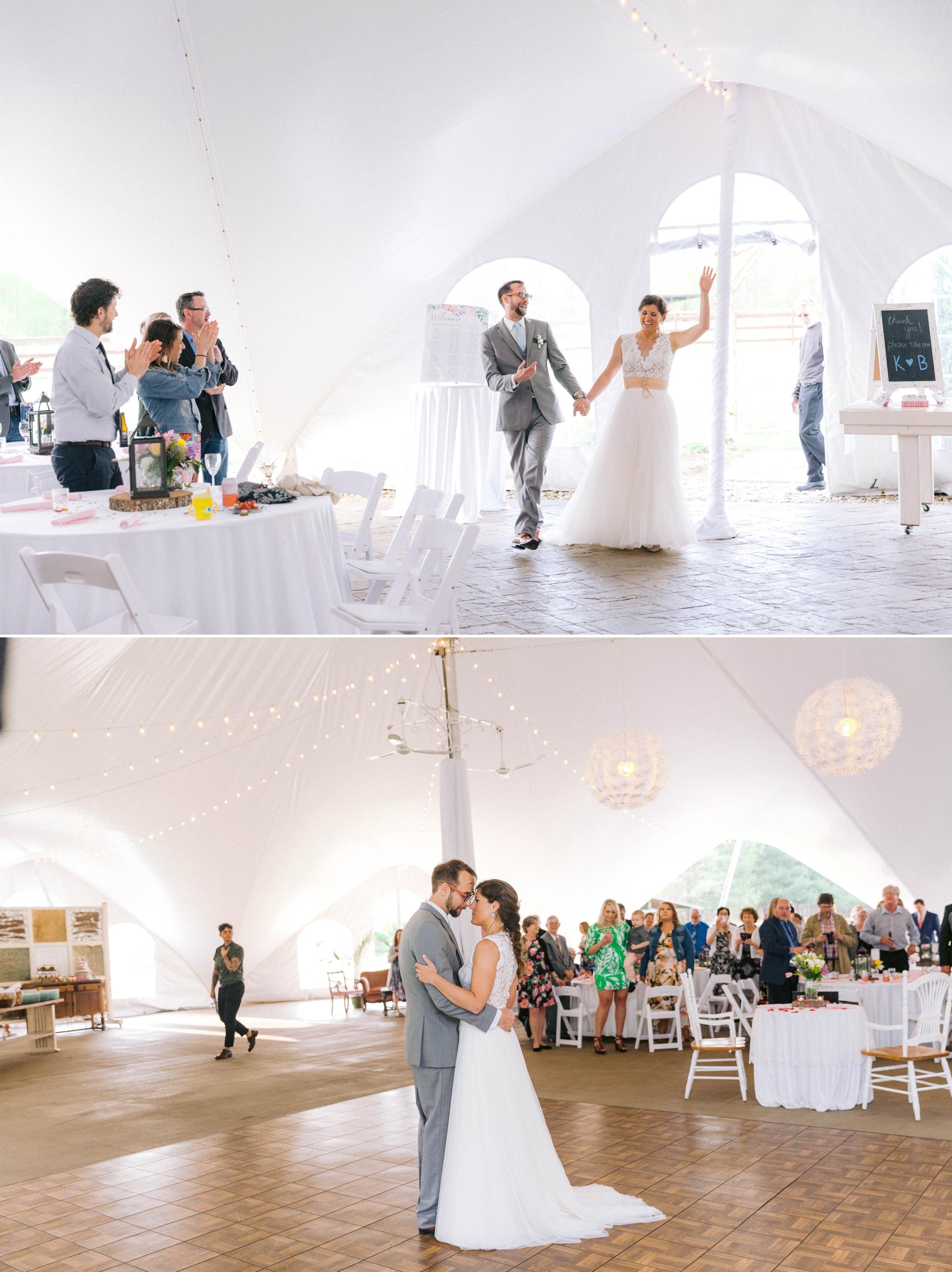 bride and groom entering venue - Honolulu Oahu Hawaii Wedding Photographer