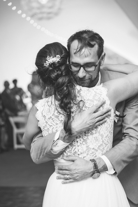 first dance between bride and groom - Honolulu Oahu Hawaii Wedding Photographer