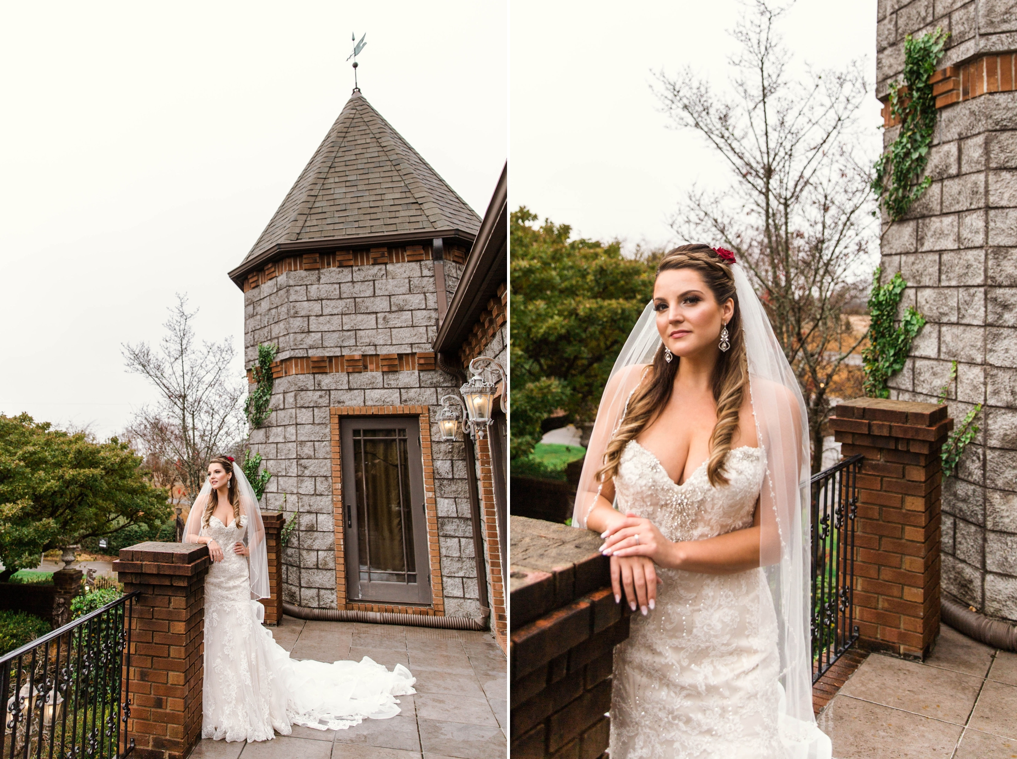 Bridal Portraits at the Castle - Honolulu Oahu Hawaii Wedding Photographer