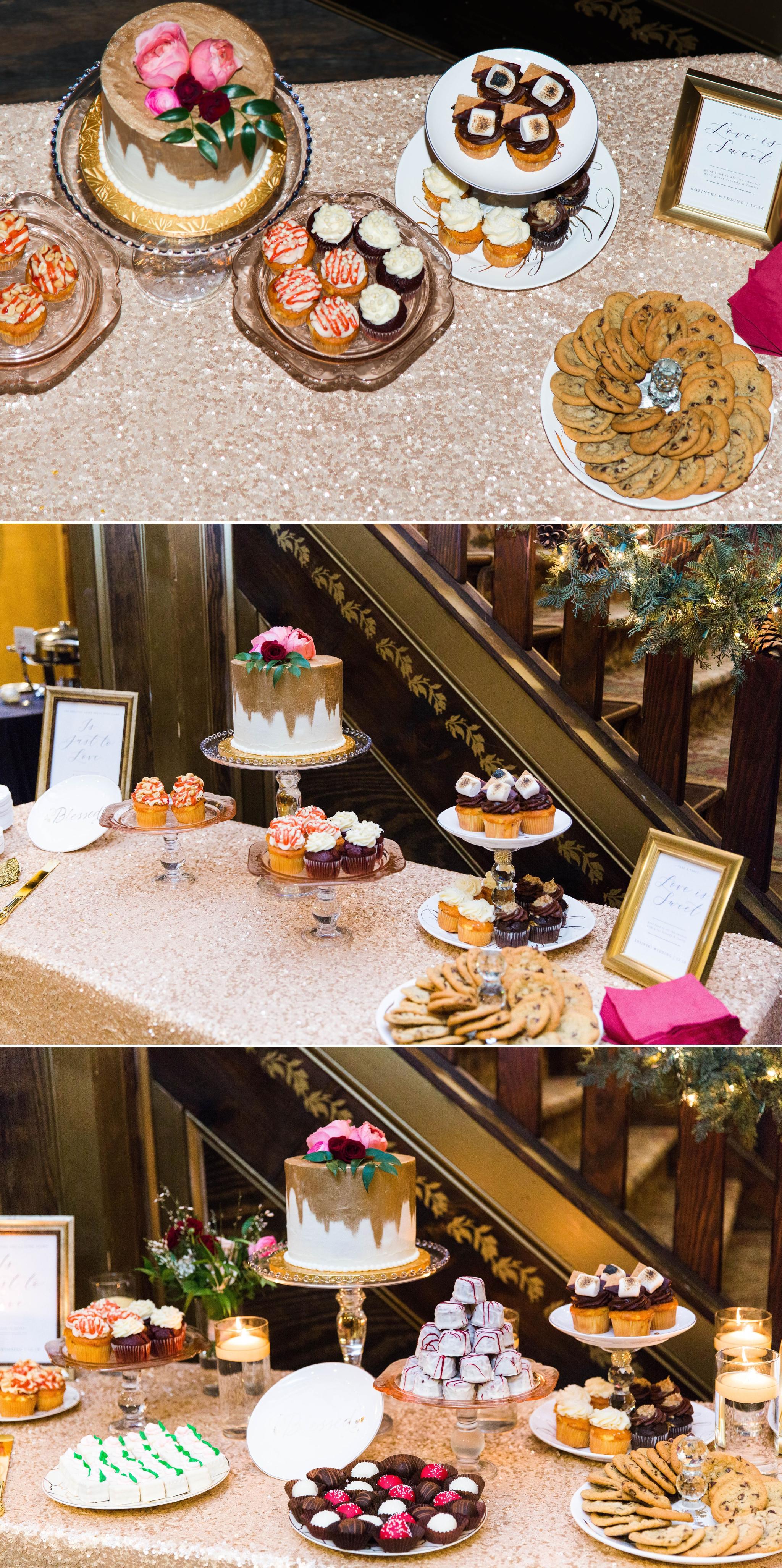 Cake Table - Honolulu Oahu Hawaii Wedding Photographer