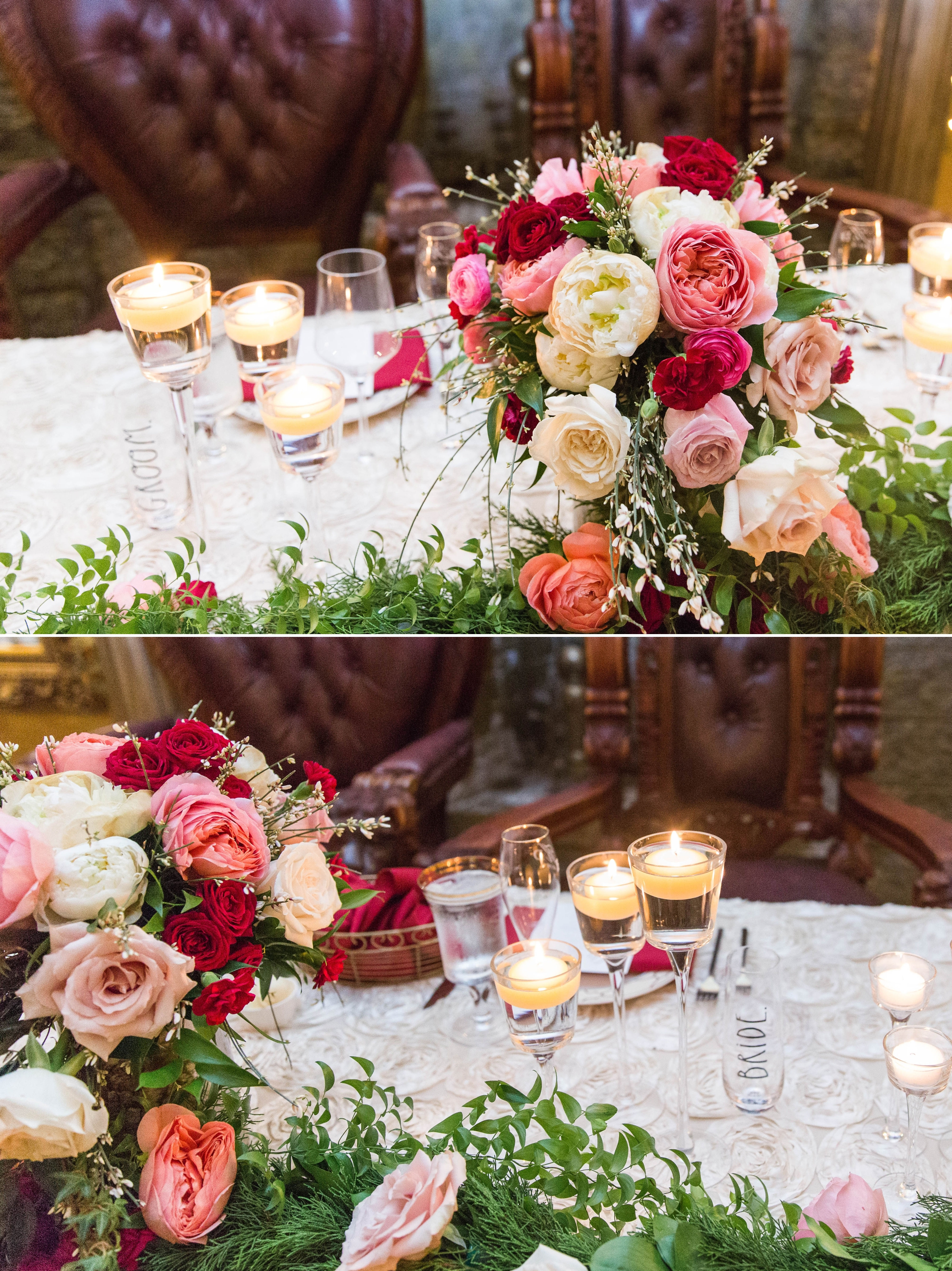 sweetheart table details - Honolulu Oahu Hawaii Wedding Photographer