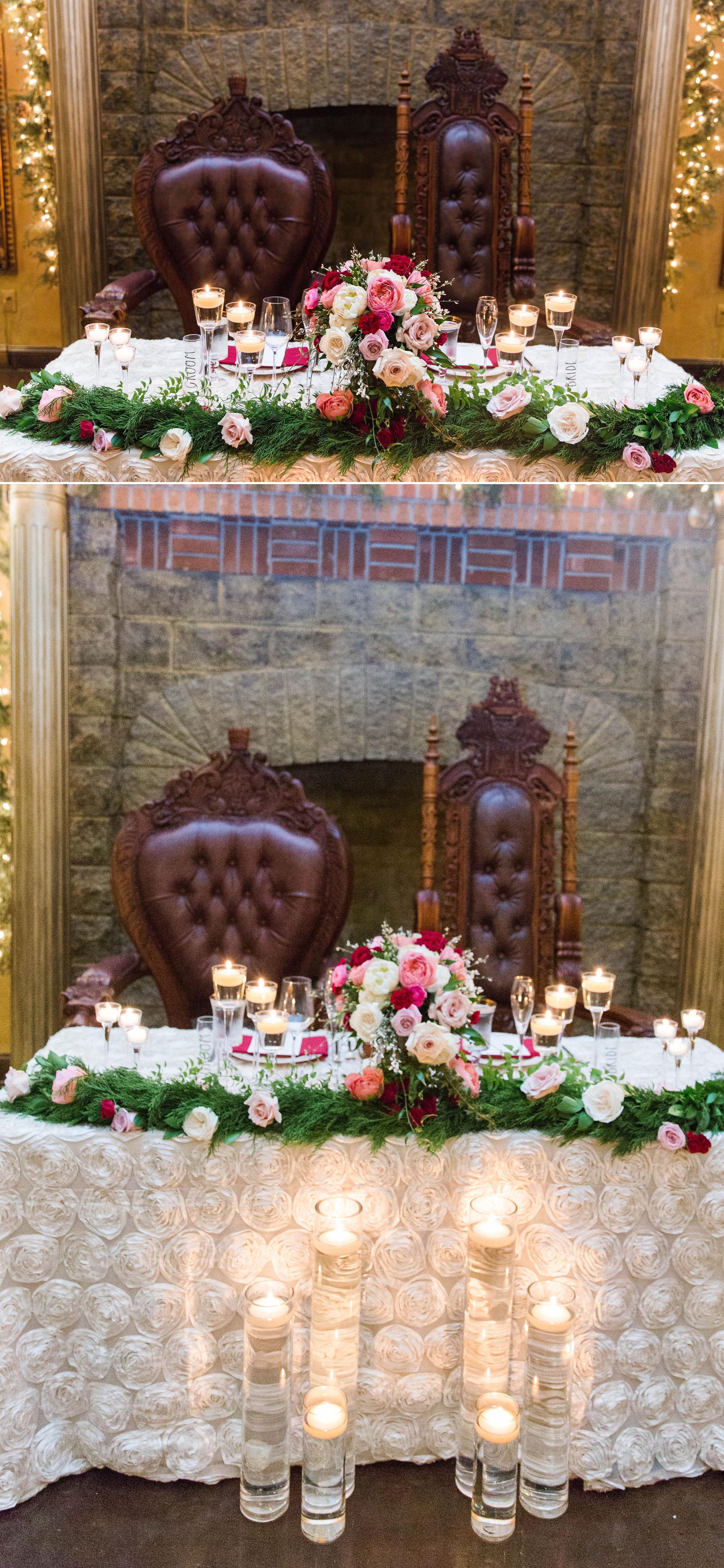 Sweetheart table details - - Honolulu Oahu Hawaii Wedding Photographer