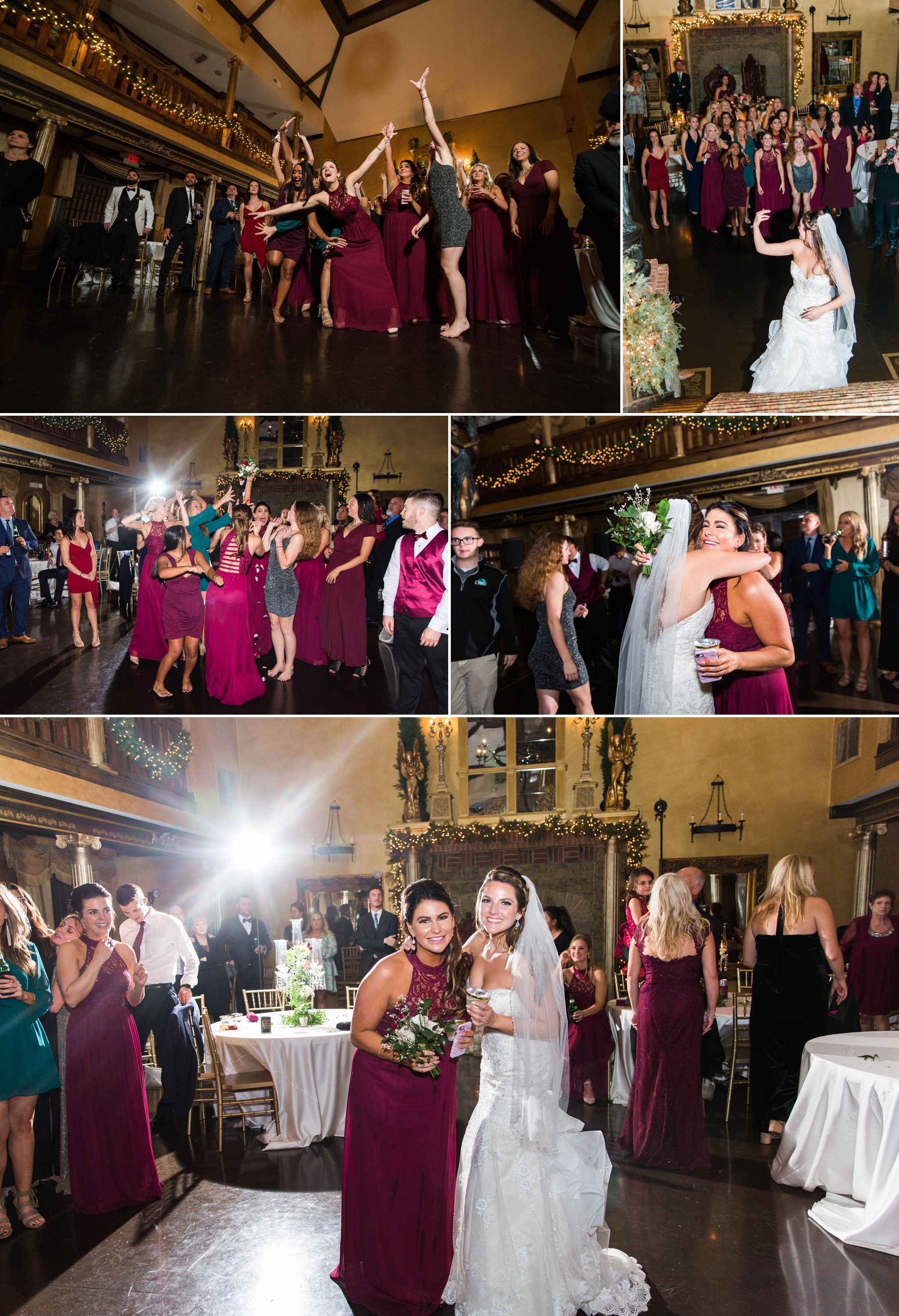 Bouquet Toss with Off Camera Flash OCF Mag Mod - Honolulu Oahu Hawaii Wedding Photographer