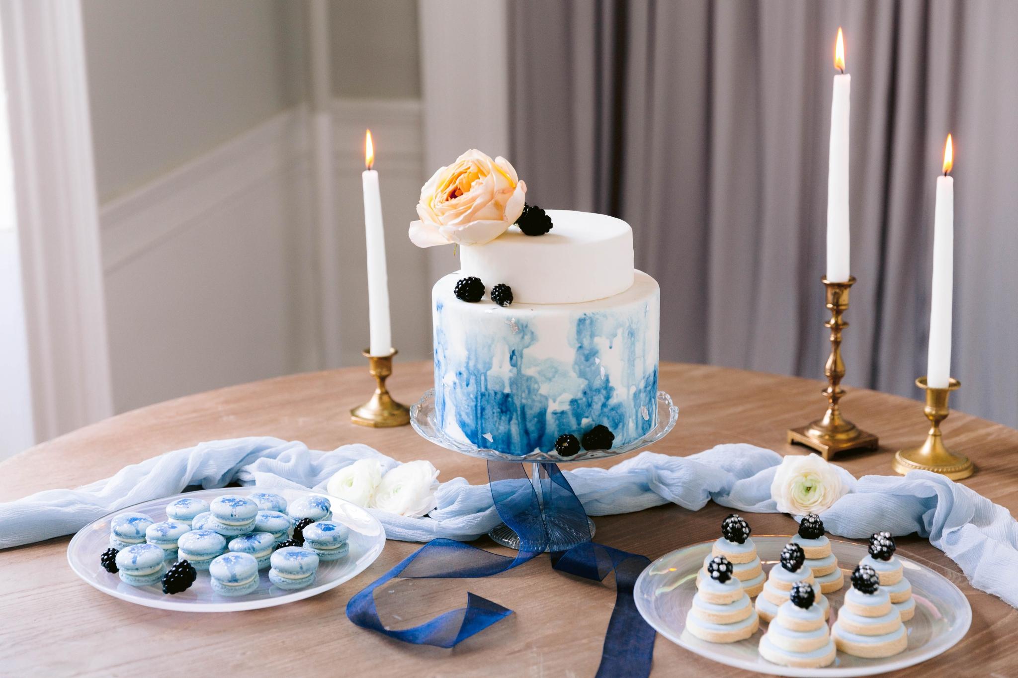 Pastel Blue Wedding Fine Art Wedding Inspiration - Honolulu, Oahu, Hawaii Wedding Photographer - Johanna Dye Photography 15.jpg