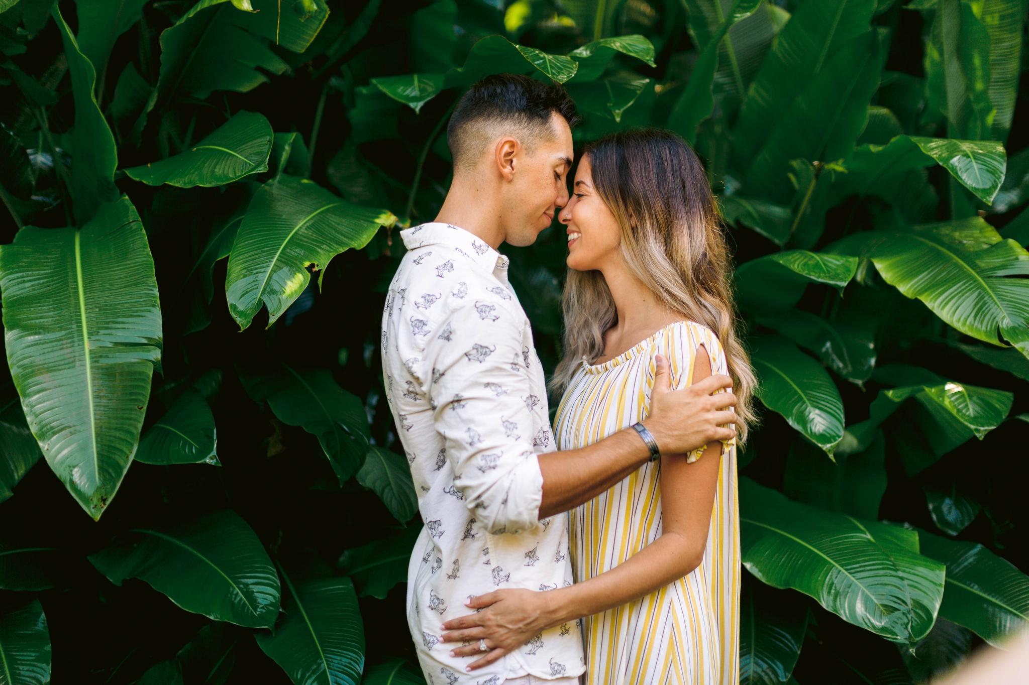 Adventure Couples Session - North Shore, Oahu, Hawaii Engagement Photographer - Johanna Dye