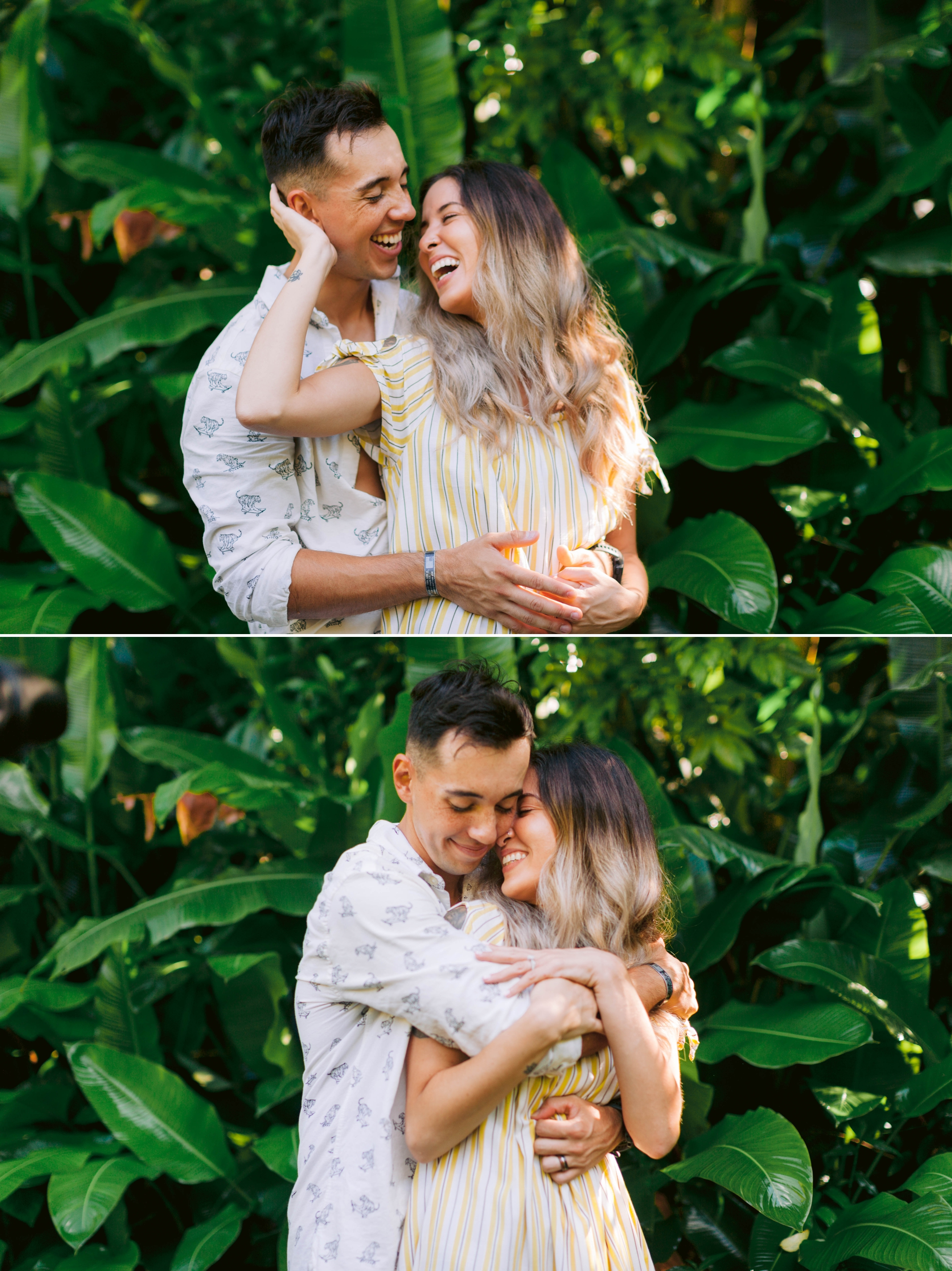 Adventure Couples Session - North Shore, Oahu, Hawaii Engagement Photographer - Johanna Dye