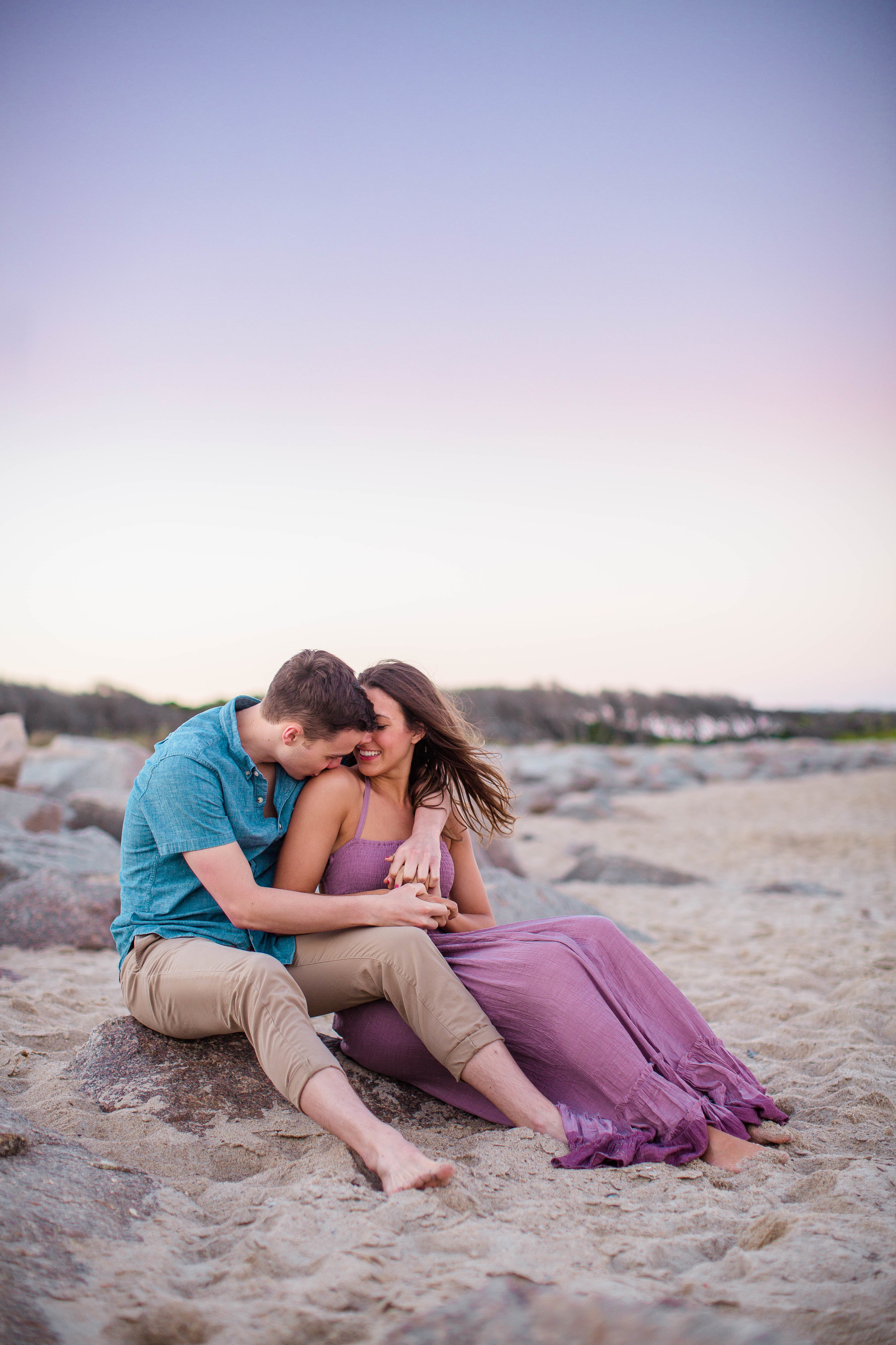 Beach Engagement Photography Session in Waikiki - Oahu Hawaii Engagement Photographer
