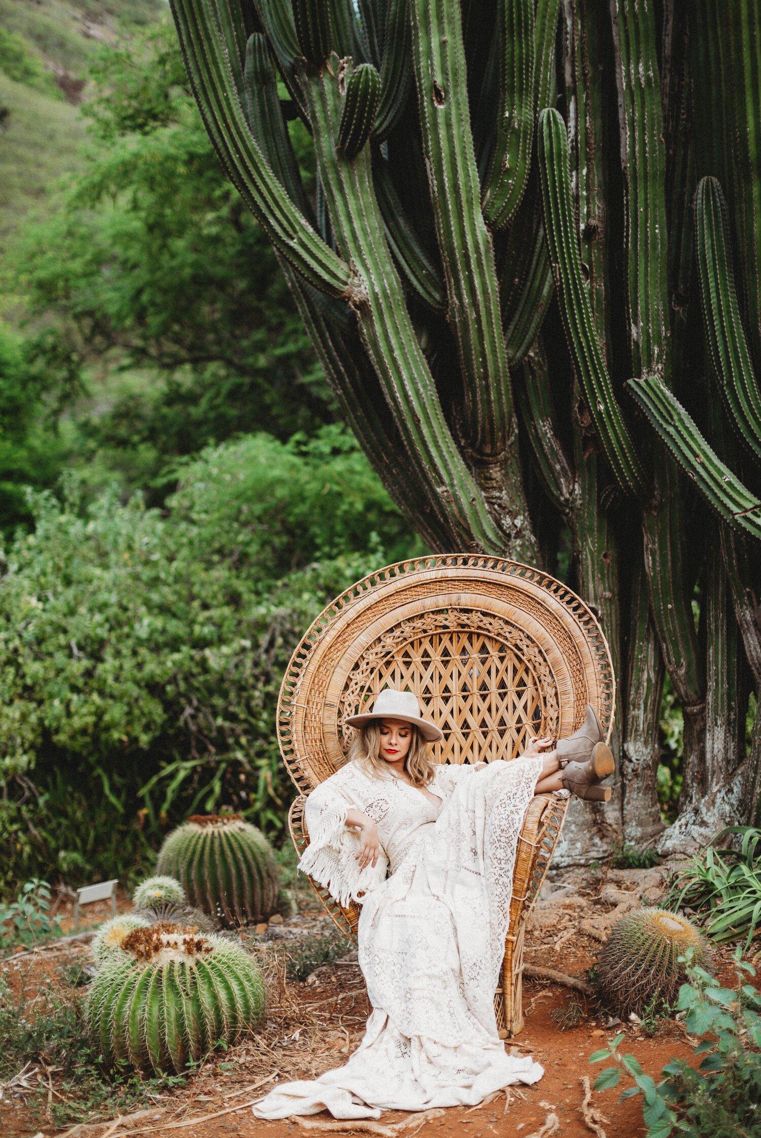 Boho Cactus Elopement - Honolulu, Koko Crater Botanical Garden - Oahu Hawaii Wedding Photographer 10.jpg