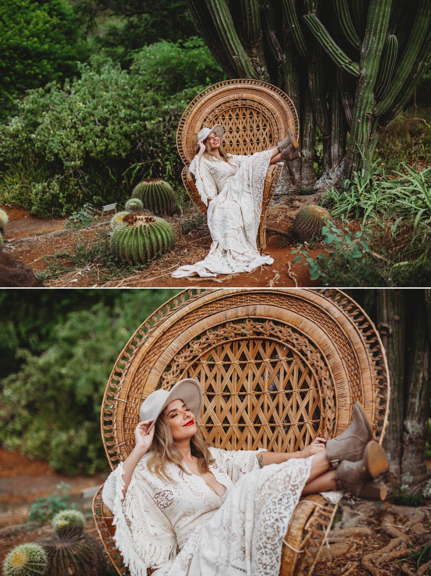 Boho Cactus Elopement - Honolulu, Koko Crater Botanical Garden - Oahu Hawaii Wedding Photographer 11.jpg