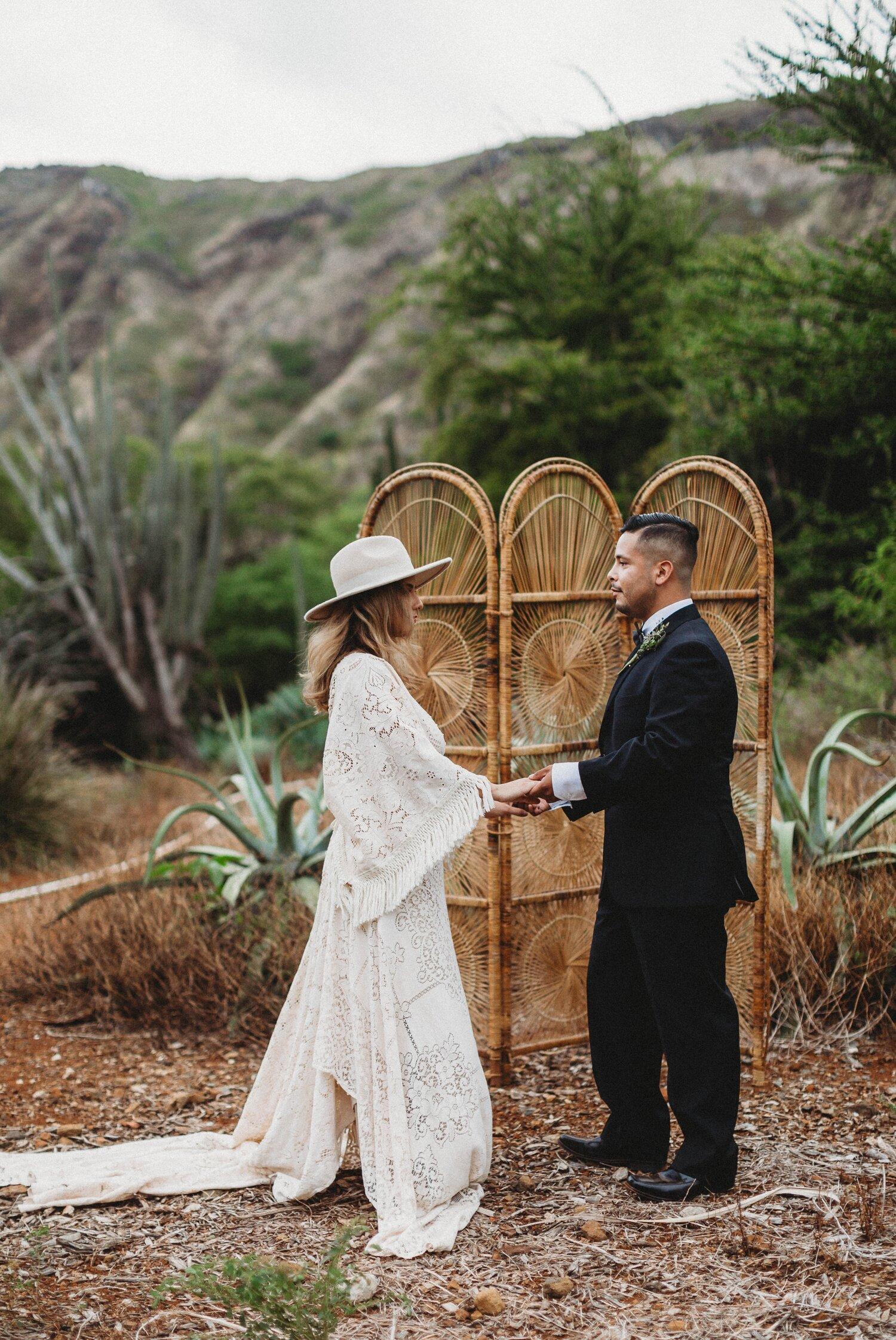 Boho Cactus Elopement - Honolulu, Koko Crater Botanical Garden - Oahu Hawaii Wedding Photographer 16.jpg