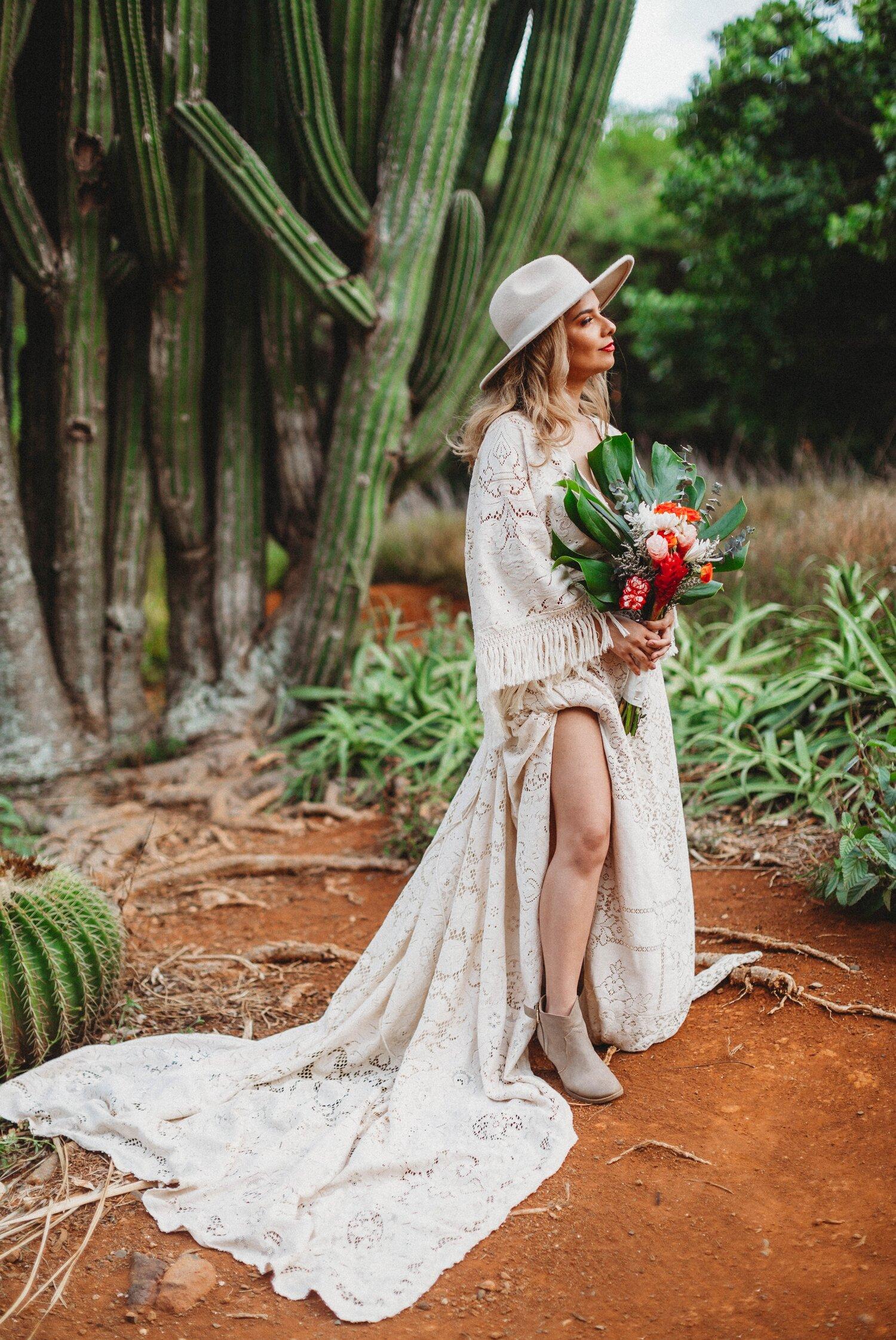 Boho Cactus Elopement - Honolulu, Koko Crater Botanical Garden - Oahu Hawaii Wedding Photographer 30.jpg
