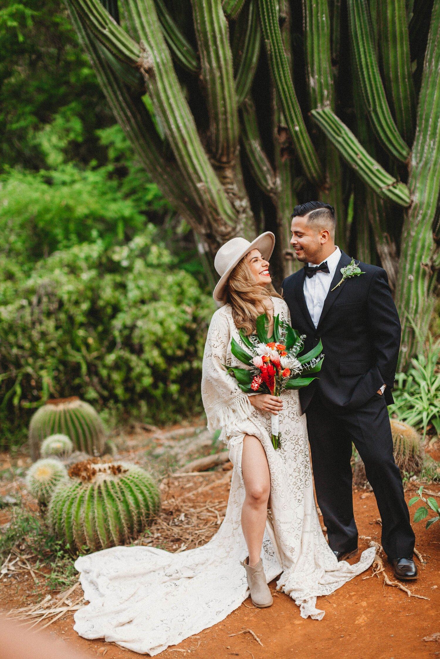 Boho Cactus Elopement - Honolulu, Koko Crater Botanical Garden - Oahu Hawaii Wedding Photographer 31.jpg