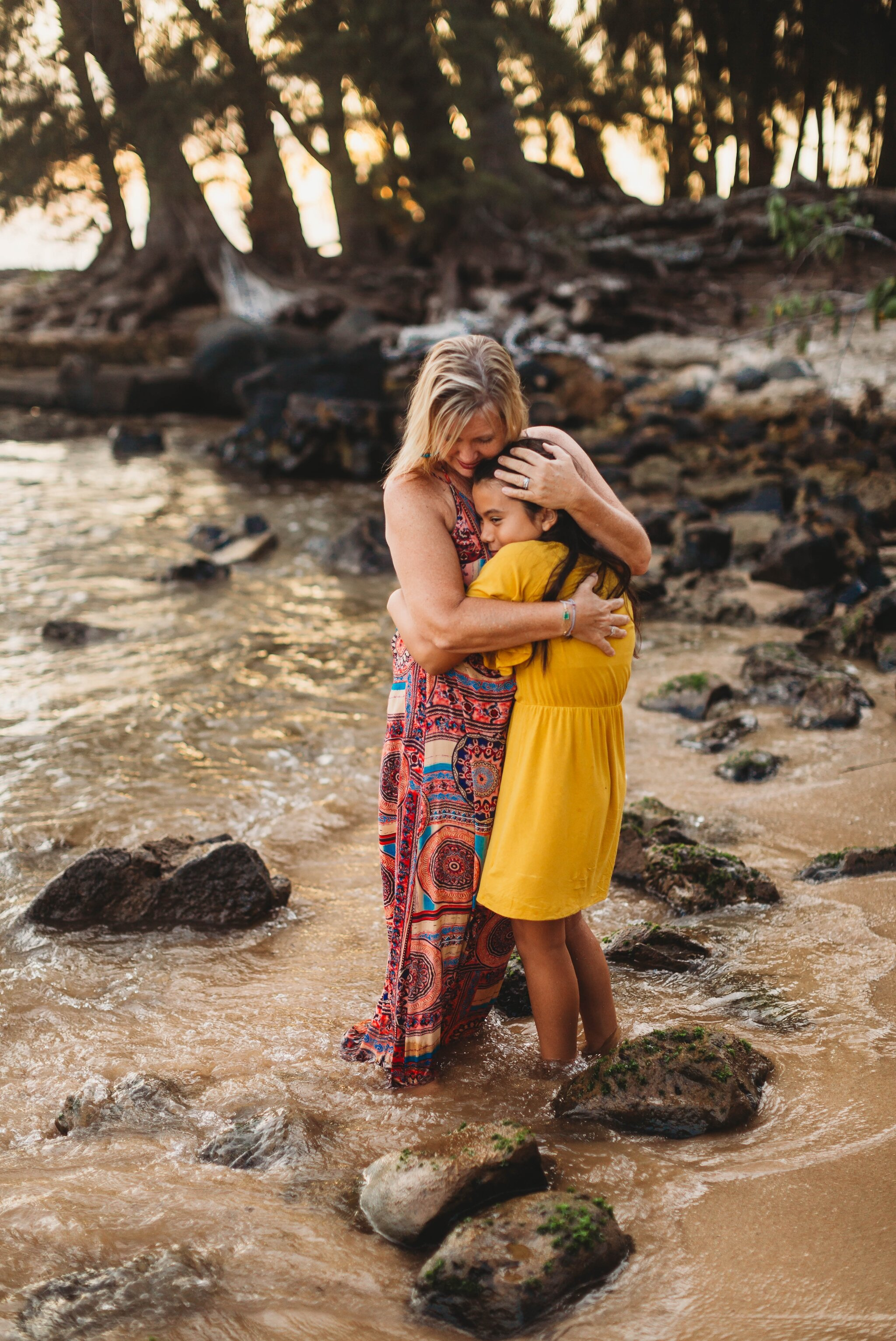 Beach Family Photography Session in Haleiwa, Oahu, Hawaii - North Shore Photographer